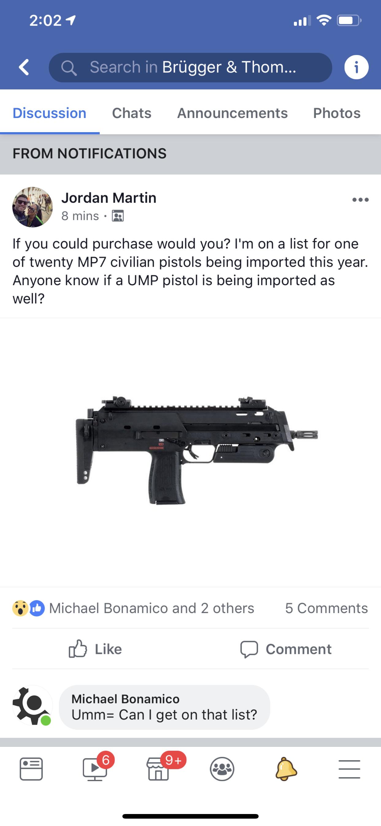 MP7 civilian pistols?