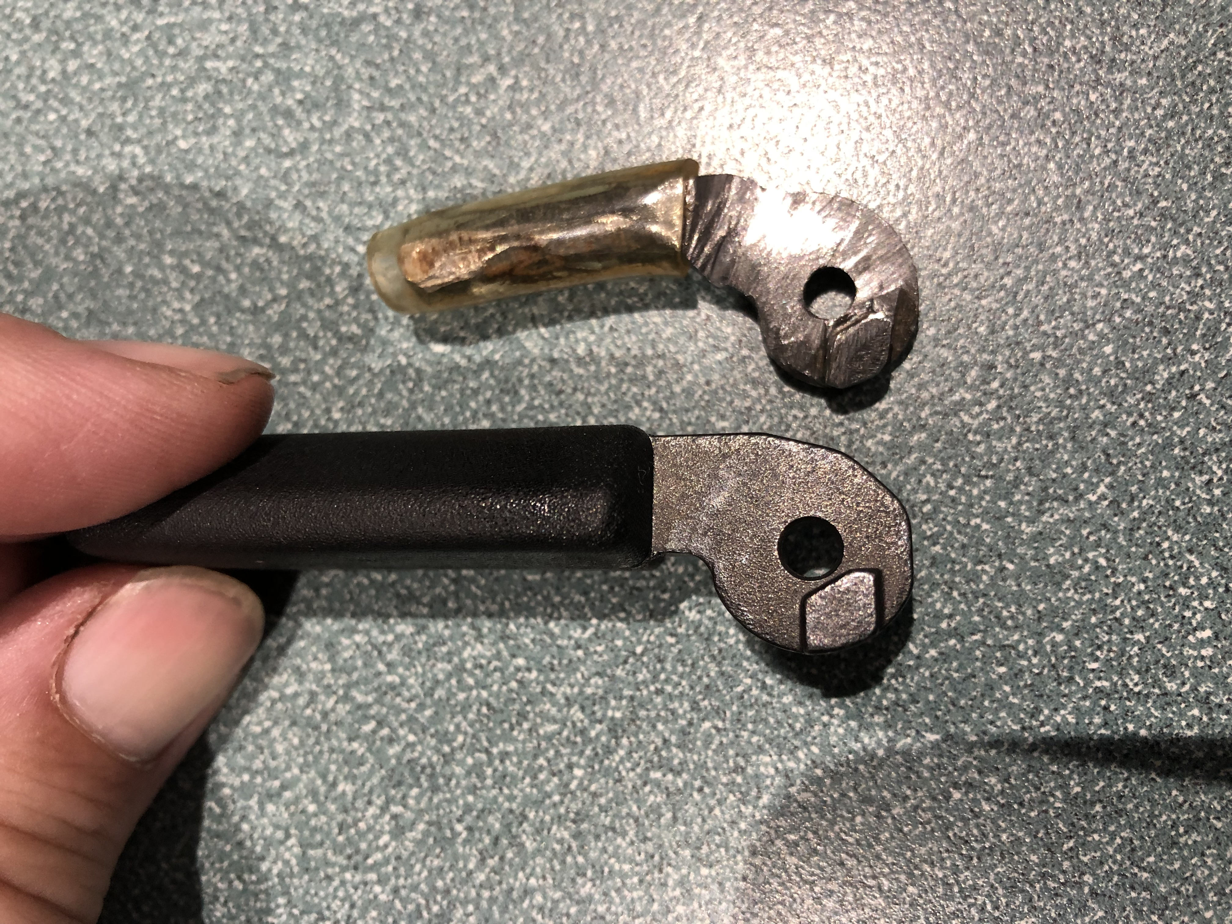HK 630, 770, 940 - Cocking Lever (Charging Handle) Removal and Replacement-16.jpg