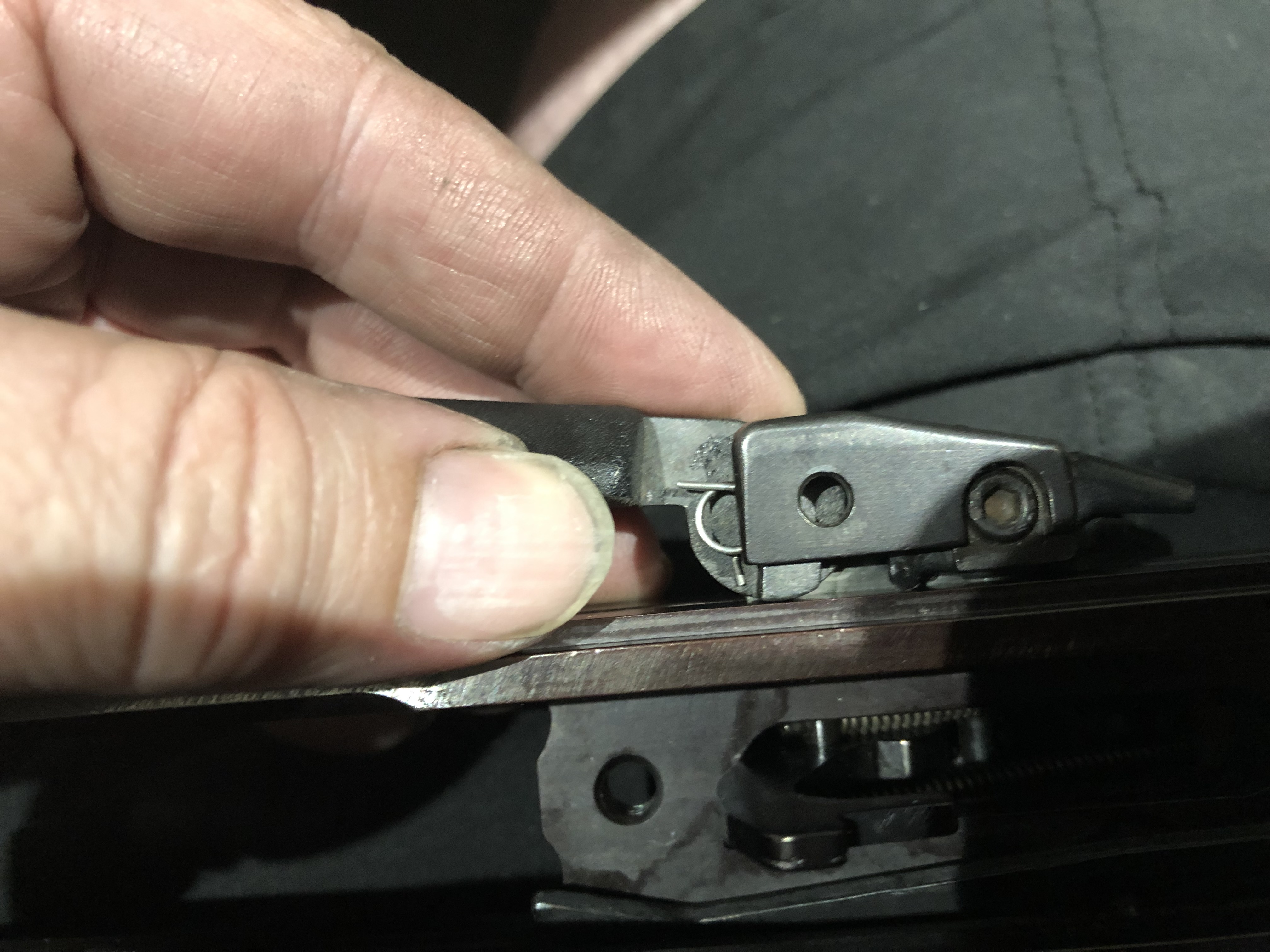 HK 630, 770, 940 - Cocking Lever (Charging Handle) Removal and Replacement-17.jpg
