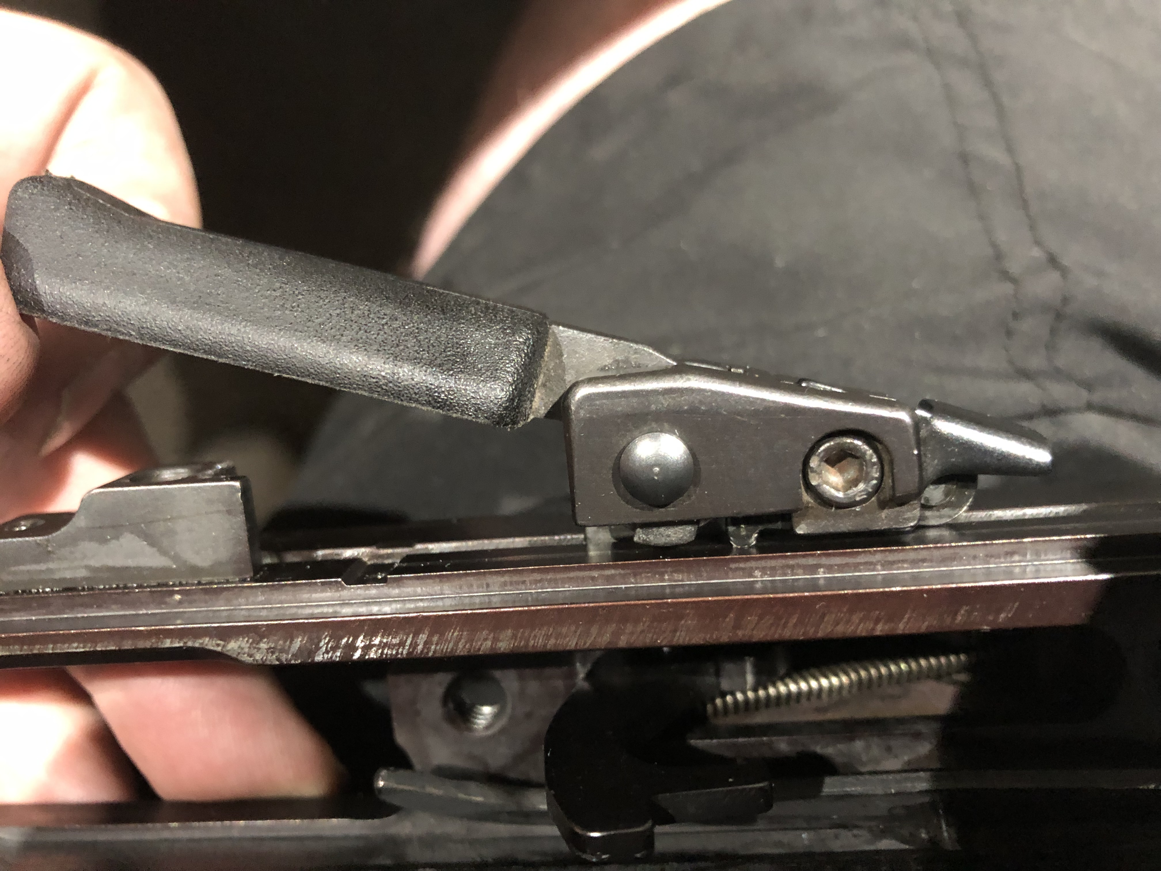 HK 630, 770, 940 - Cocking Lever (Charging Handle) Removal and Replacement-19.jpg