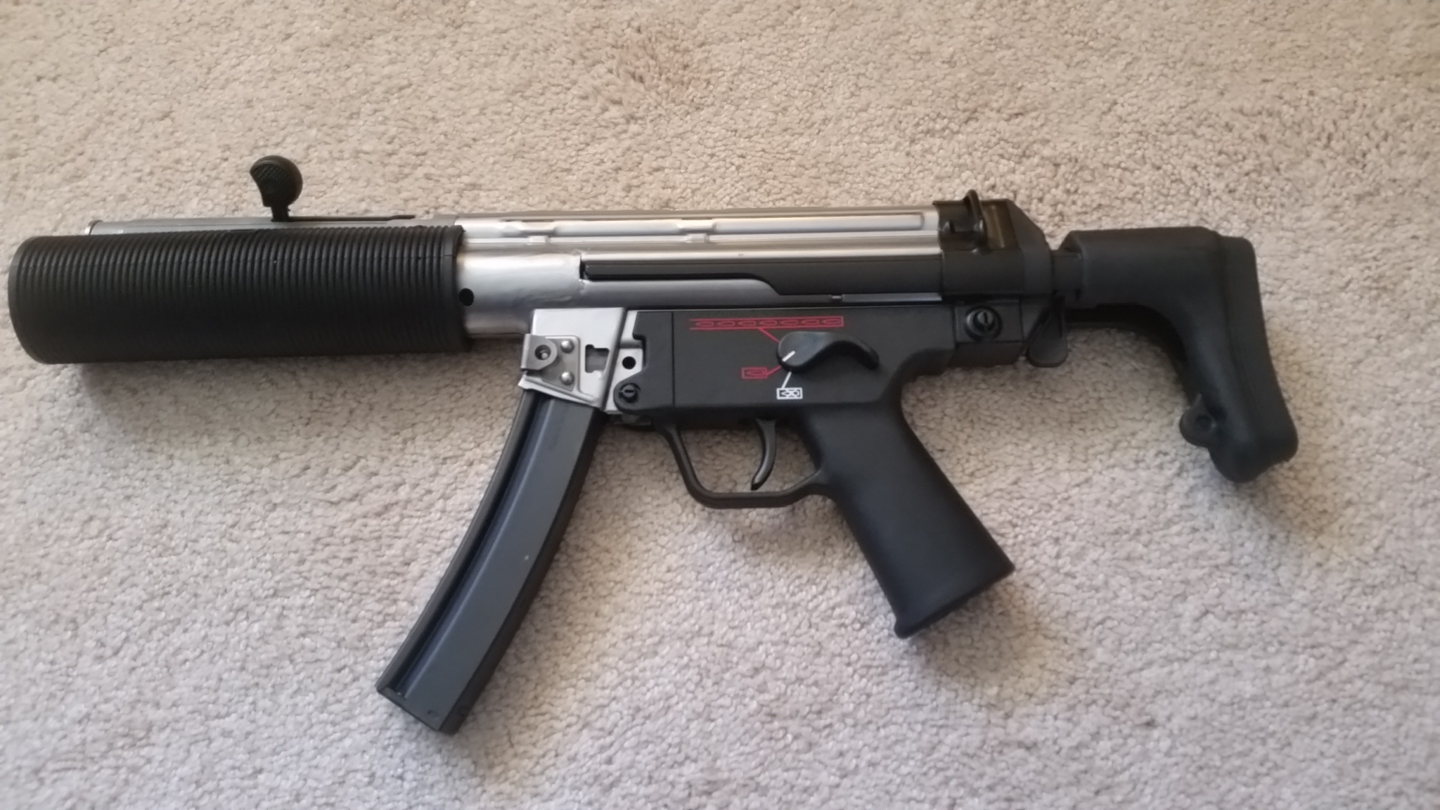 MP5SD Clone In The Works - Page 3