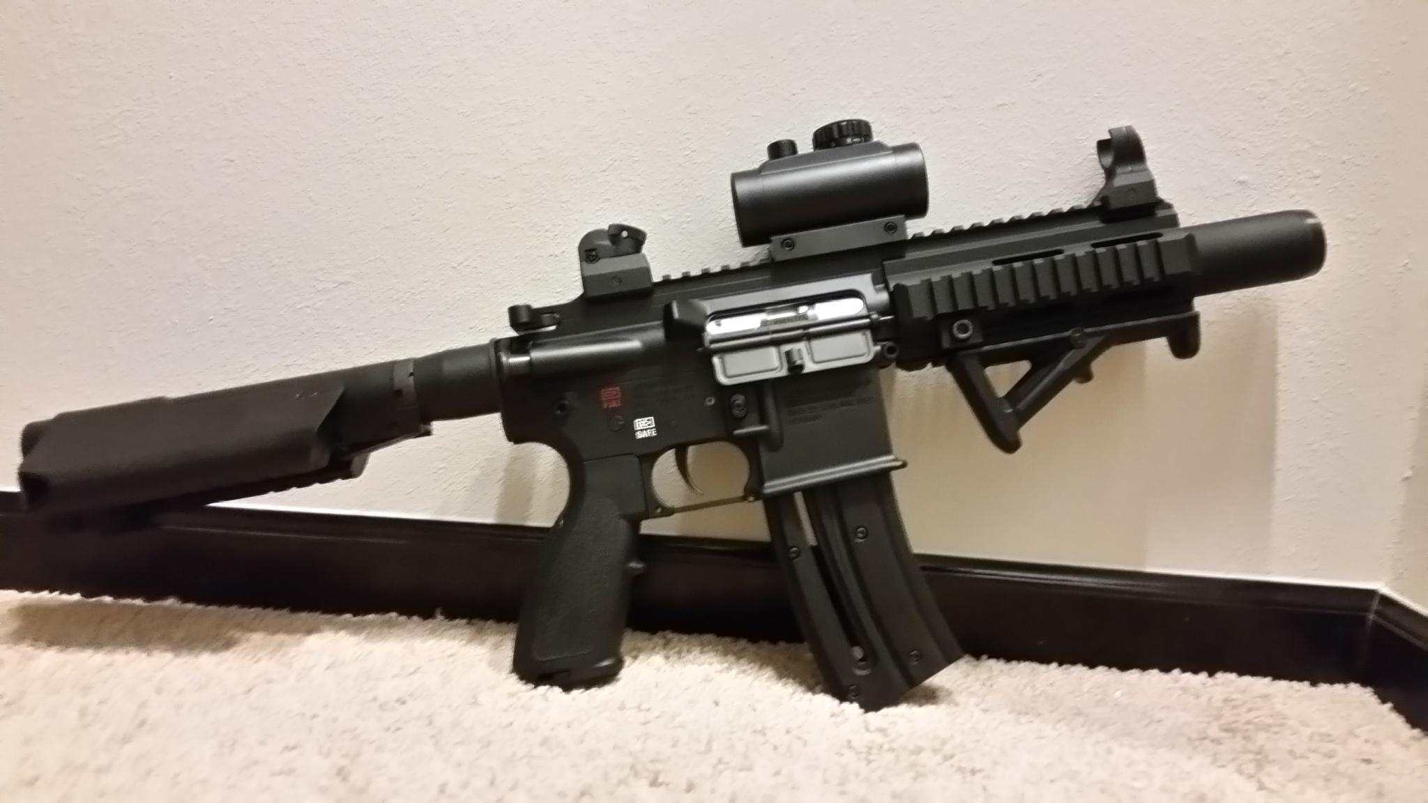 HK 416 22lr Pistol with SigTac Brace      Installation       - Page 3