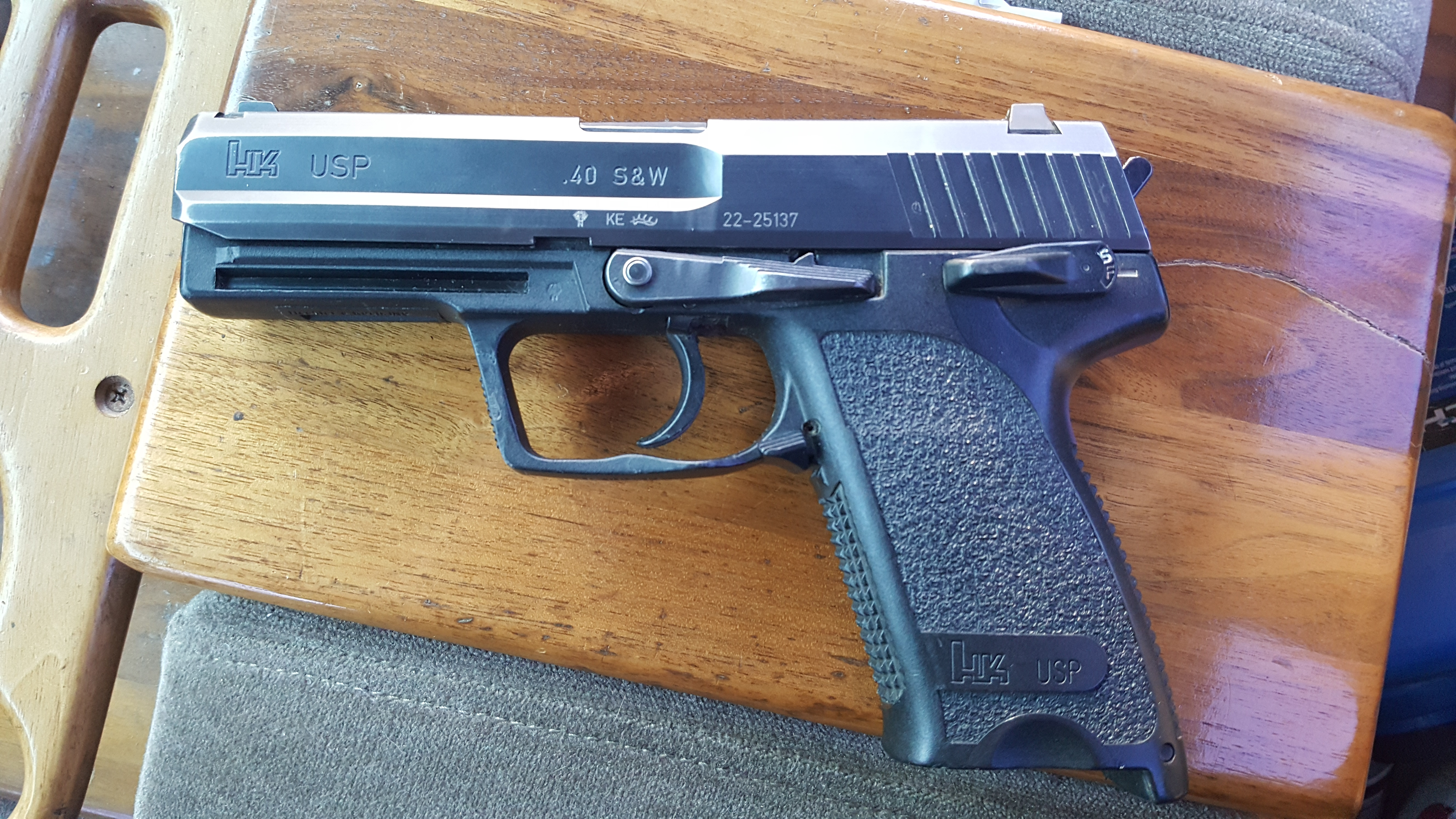 Recieved my police trade in USP today