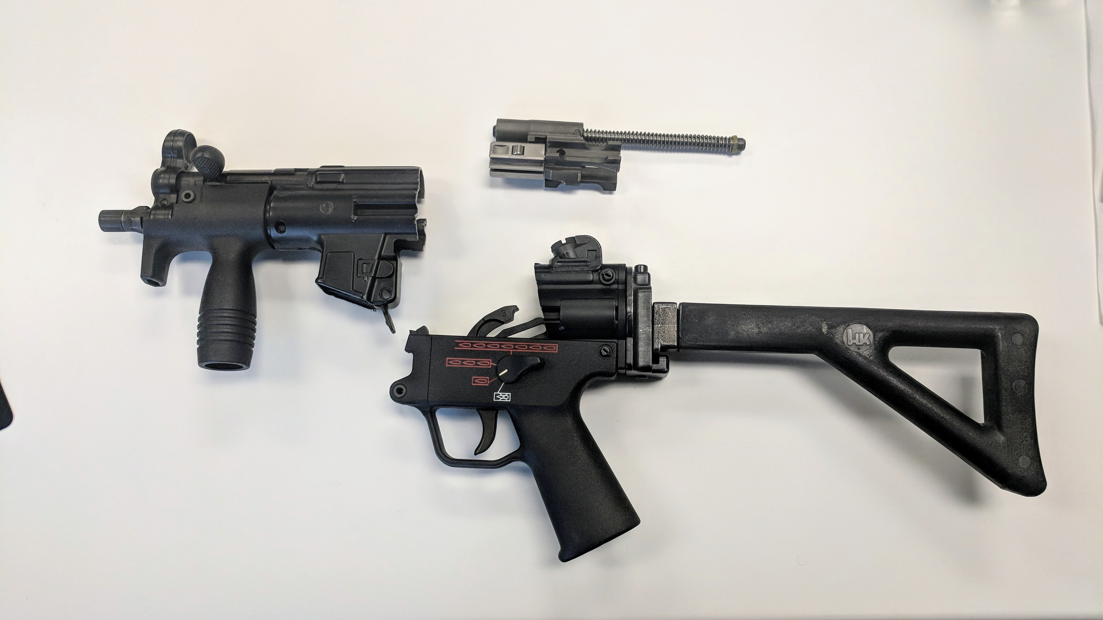 WTS: HK SP89 and complete demilled MP5k- PDW kit W/ LSC k Flat