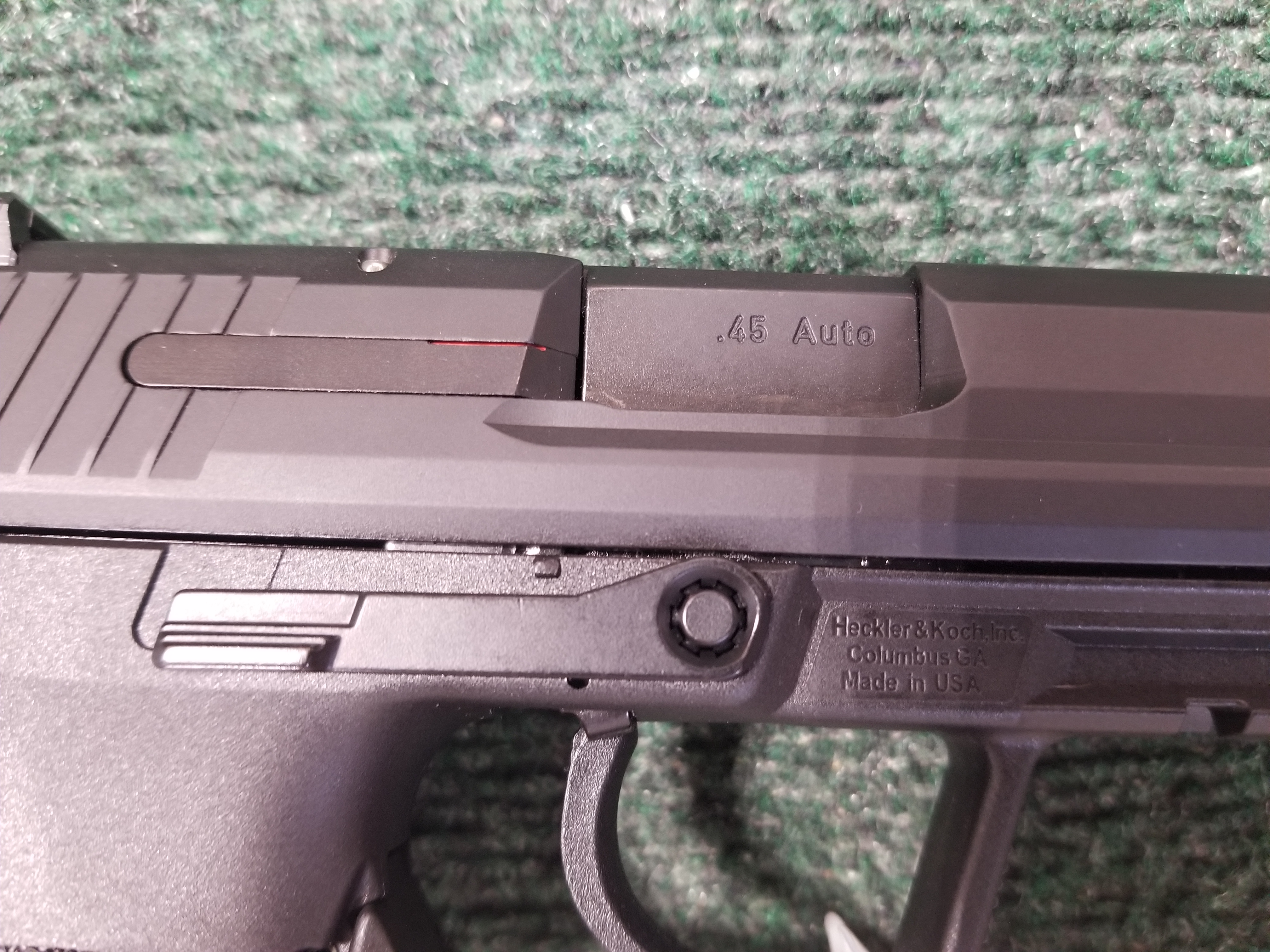 Full size HK45 Tactical questions
