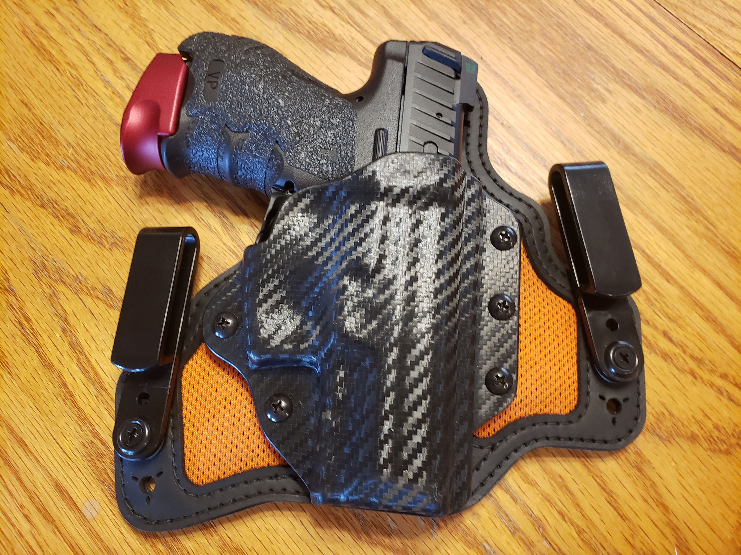 WTS-WTT:  VP9SK Black Arch IWB Holster RH.  As new!-20191228_153001.jpg
