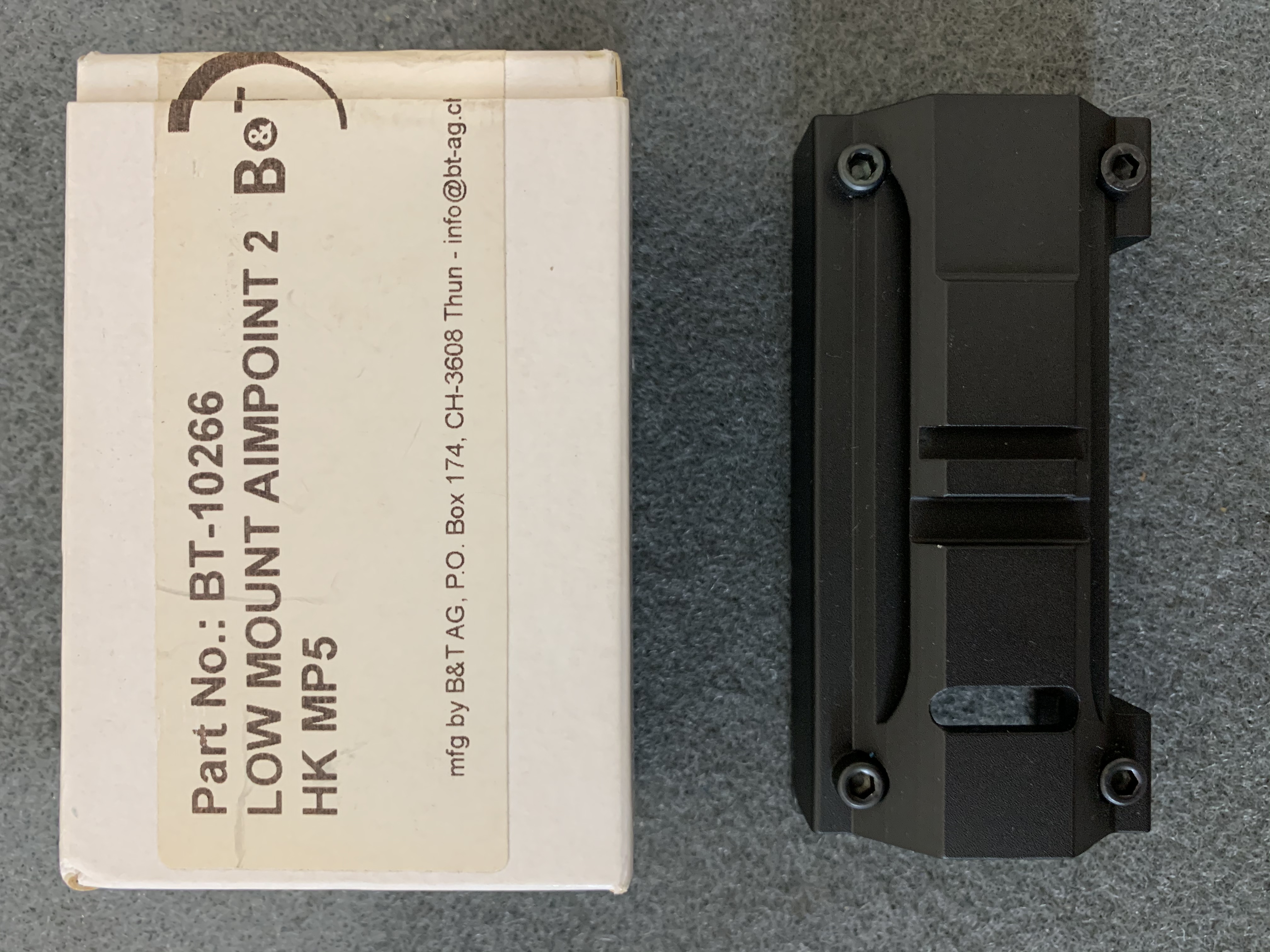 WTS: B&T 10266 Low Mount for Aimpoint, etc-2049fb2e-6a33-438a-8e71-f5e0761c953a.jpeg