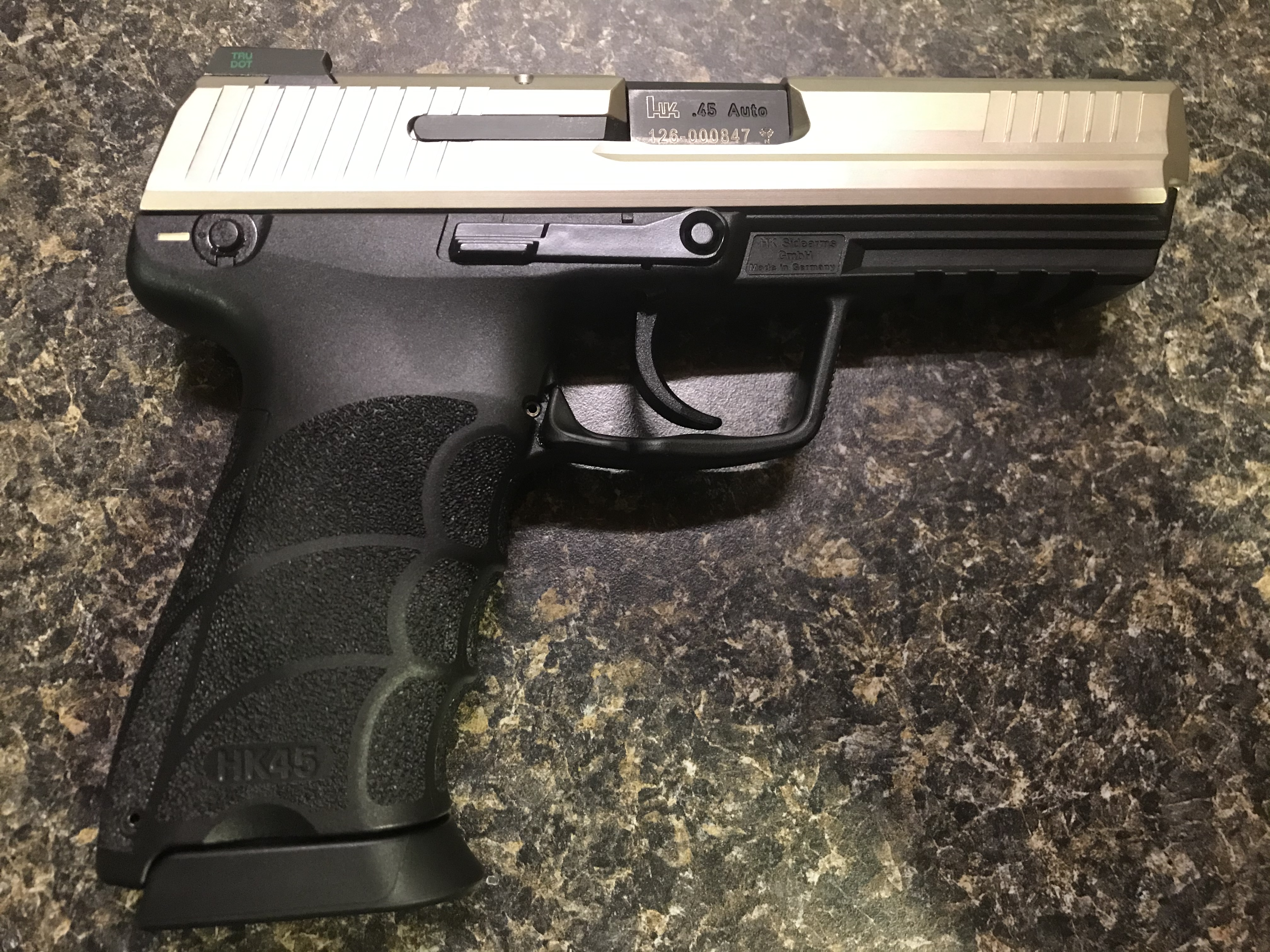 WTS:  HK45, German-made, custom finish, LEM with manual safety and night sights-37abbf03-c0d9-4546-b8a0-c140617a0216.jpeg