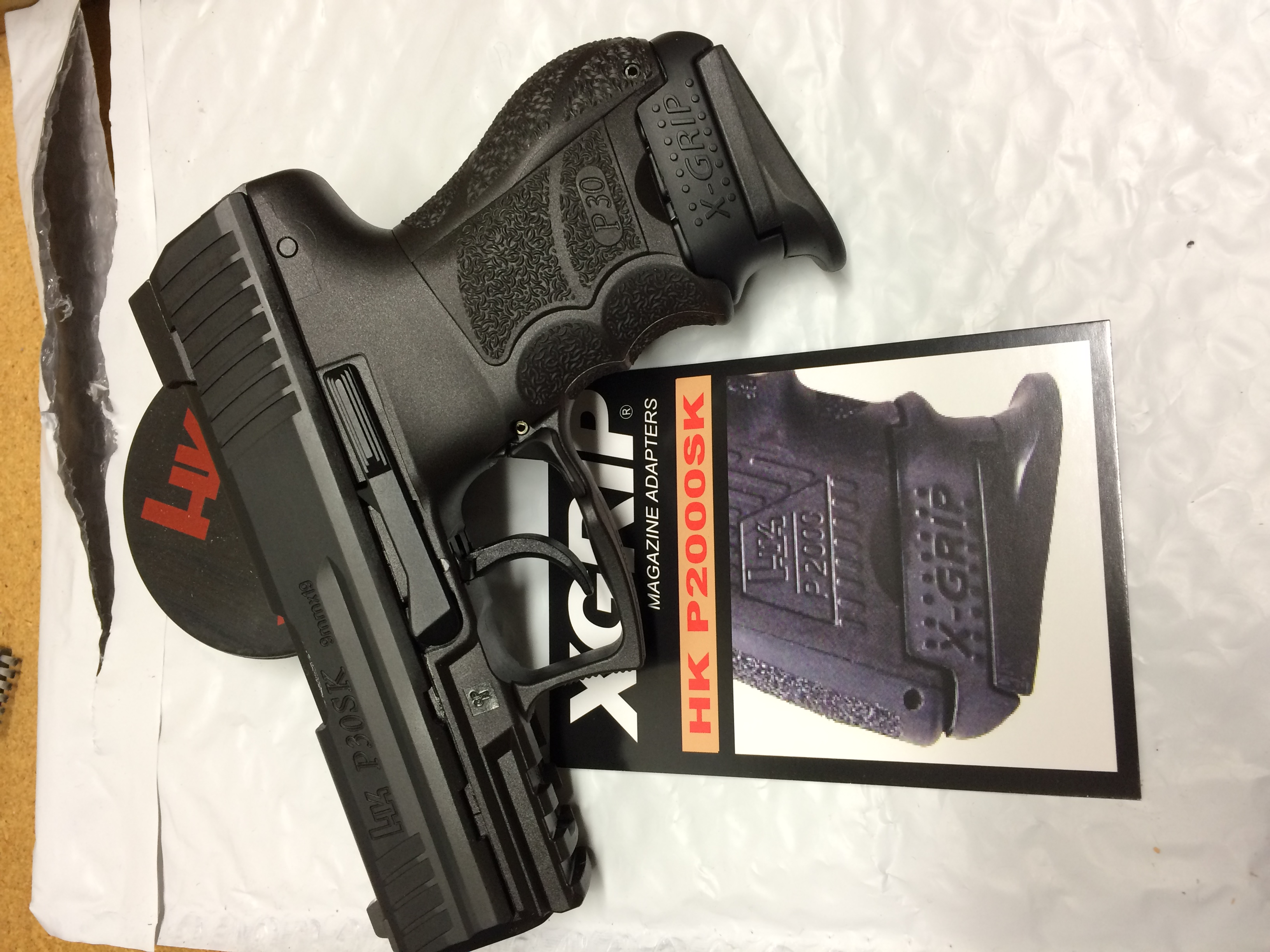 VP9SK INCOMING + PUSH BUTTON magazine release + redesigned charging