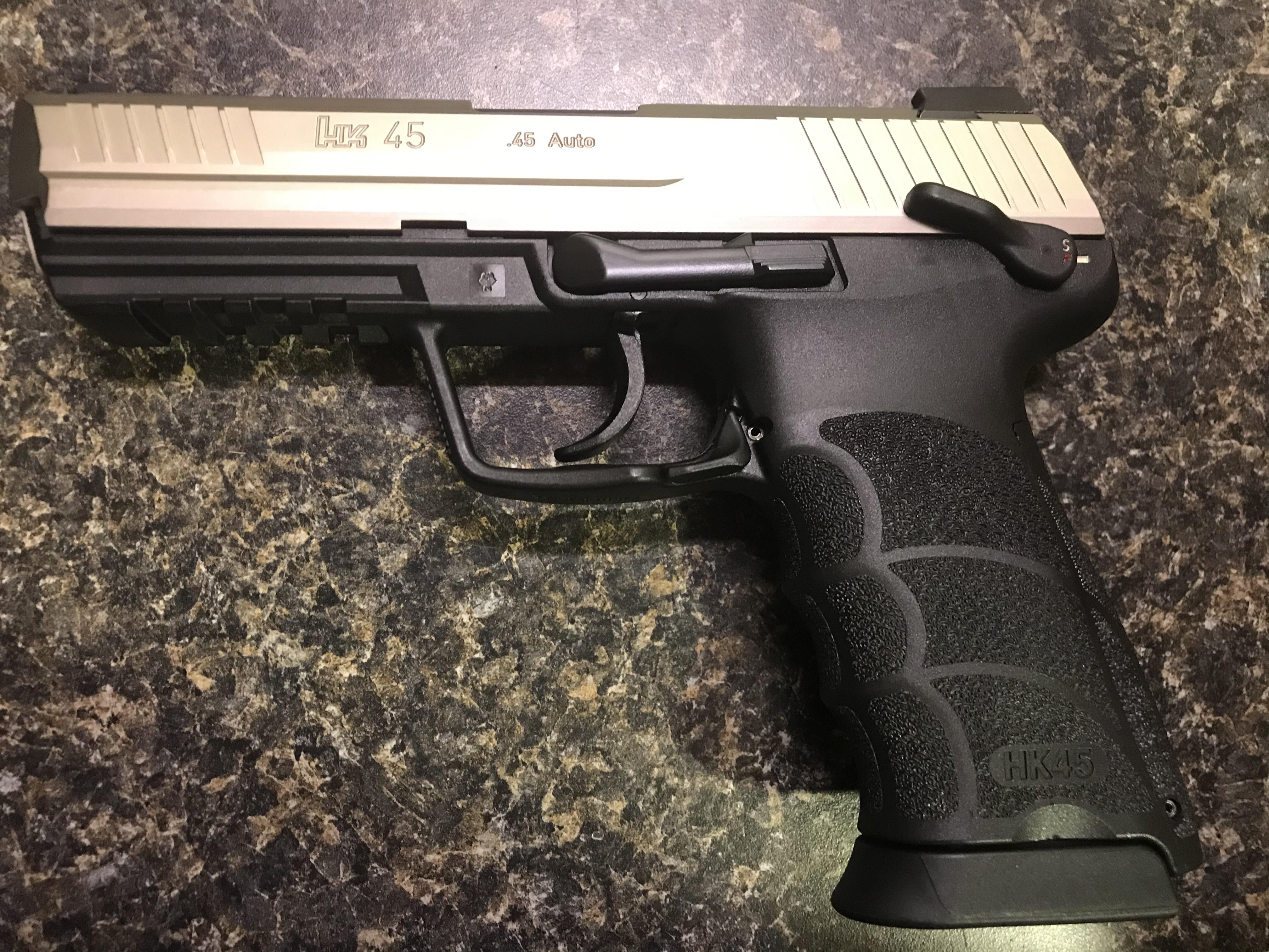 WTS:  HK45, German-made, custom finish, LEM with manual safety and night sights-434a4f02-4122-404b-8265-c0f3502a3f68.jpeg