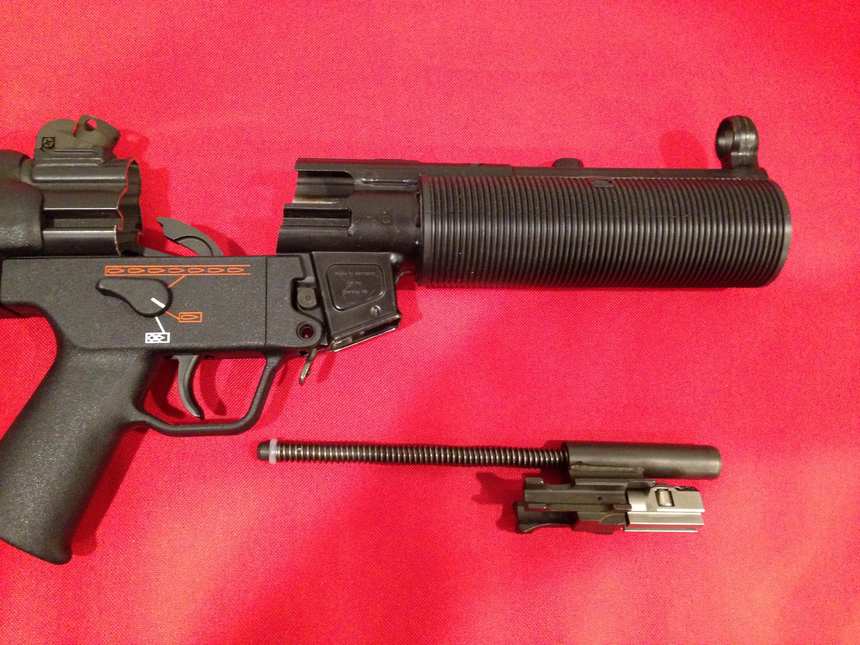 Am Auto Parts >> WTS German MP5SD Parts Kit-Mint-Late Production