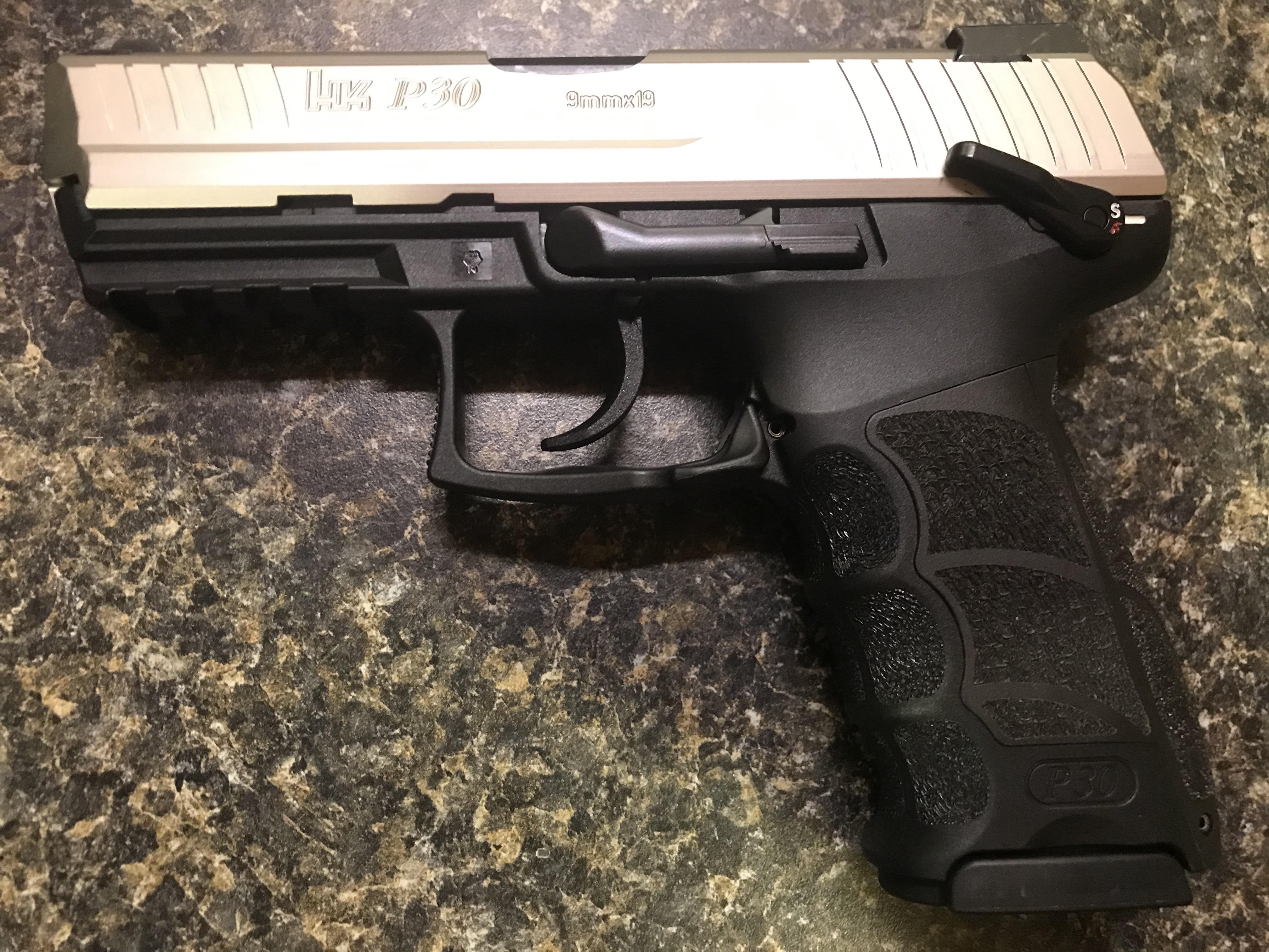 WTS: HK P30S, 9mm, custom finish, rare LEM with manual safety and night sights-57371fb9-fb7b-41a1-9a93-b95fe80a70cb.jpeg