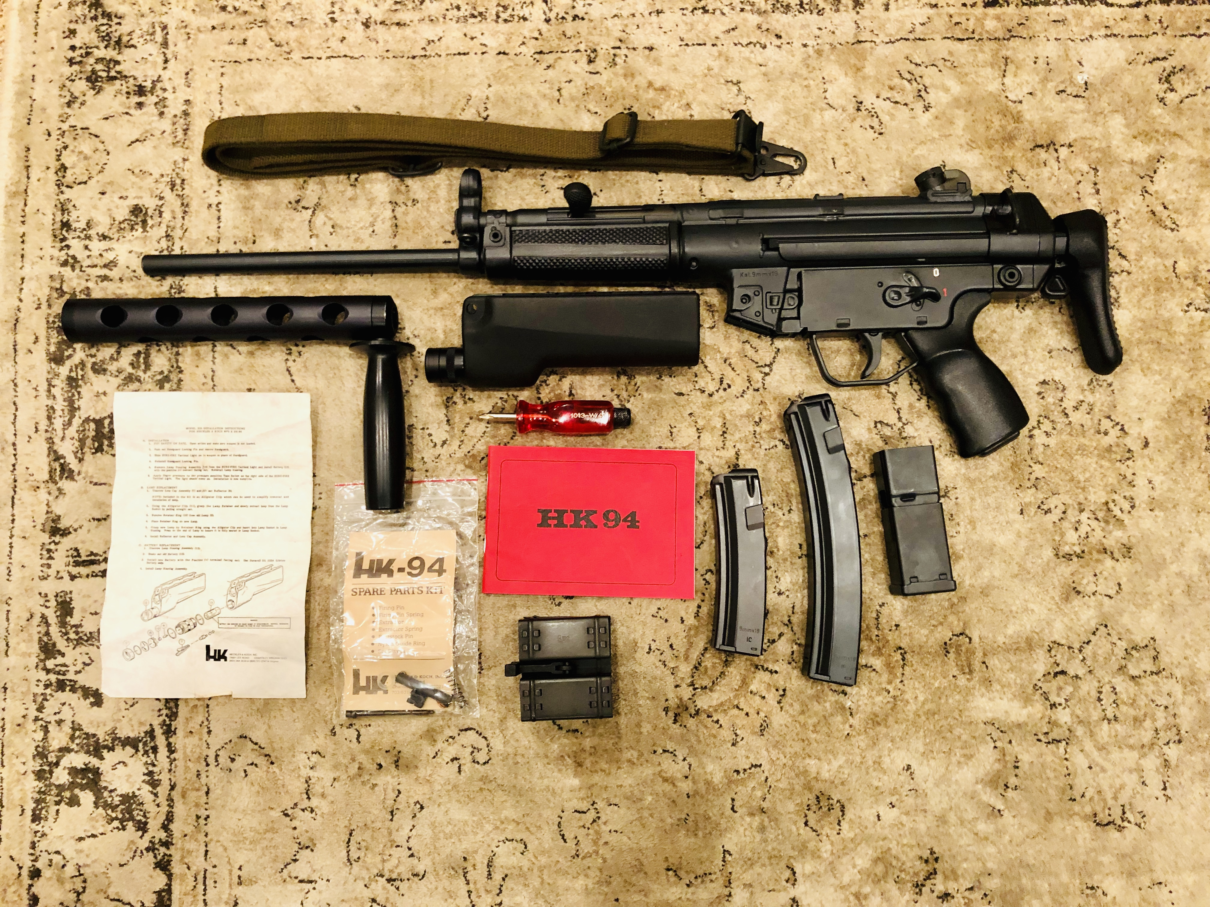 HK94 ID Code