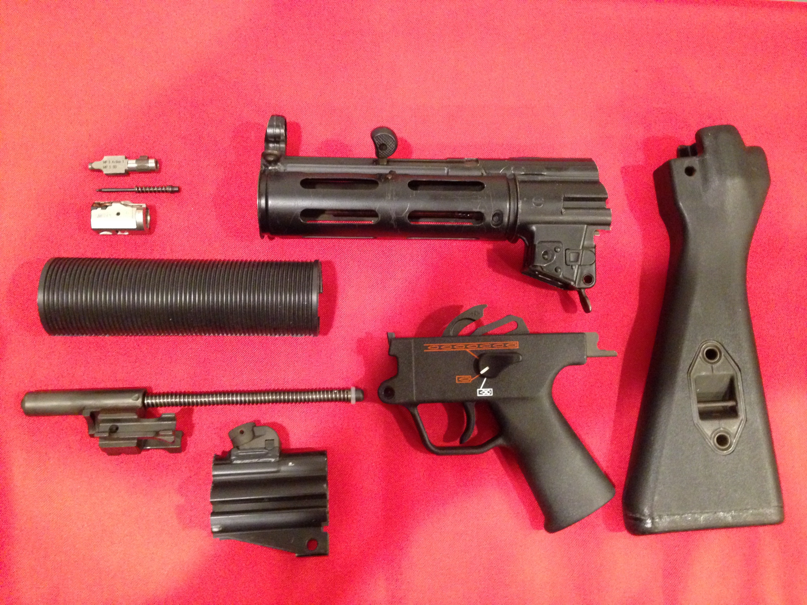 Wts German Mp5sd Parts Kit Mint Late Production