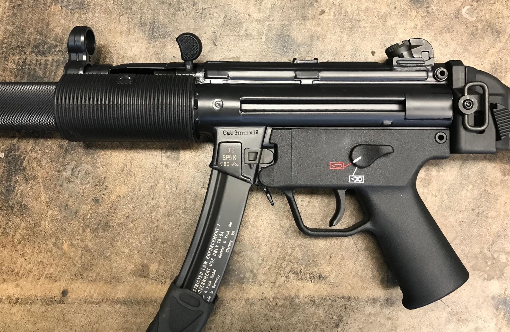 HK SP5K to MP5KSD conversion