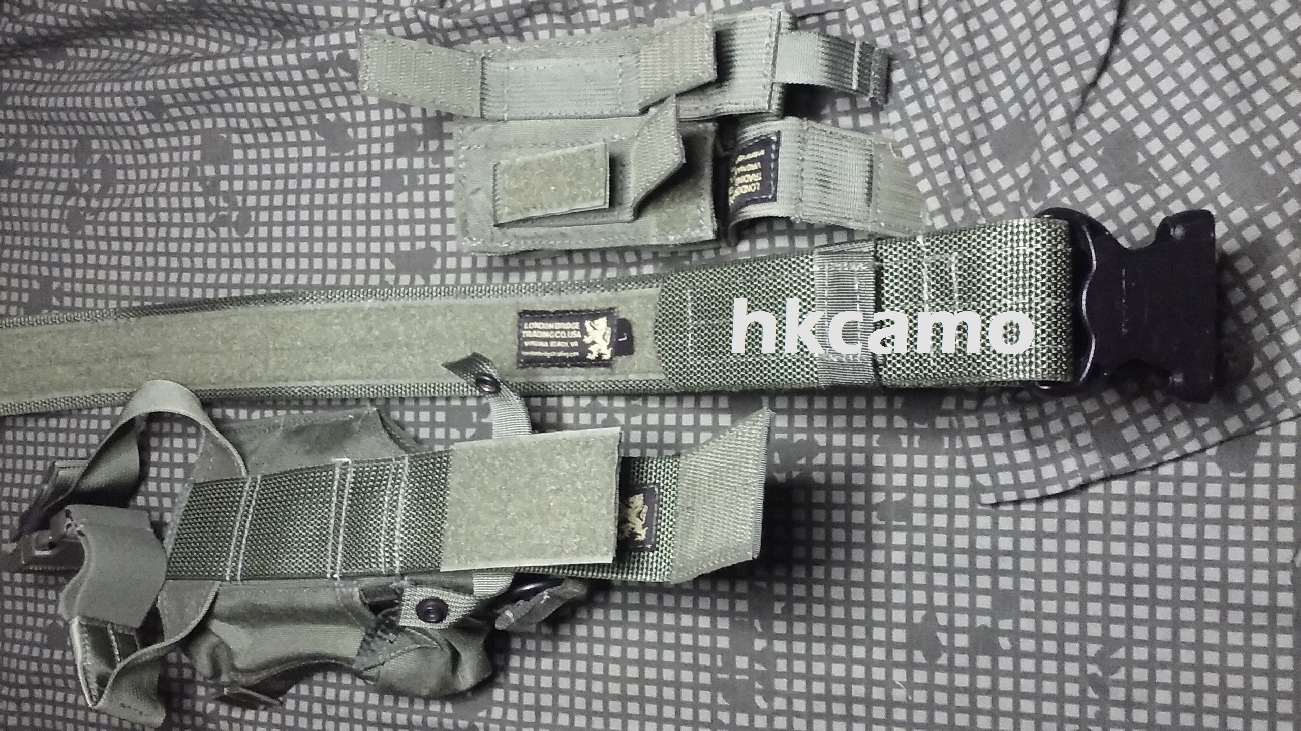 London Bridge Trading Co LTD MAS Grey H&K 416 417 MP7 MK24 HK45CT Operator Kit (Rare)-b.jpg