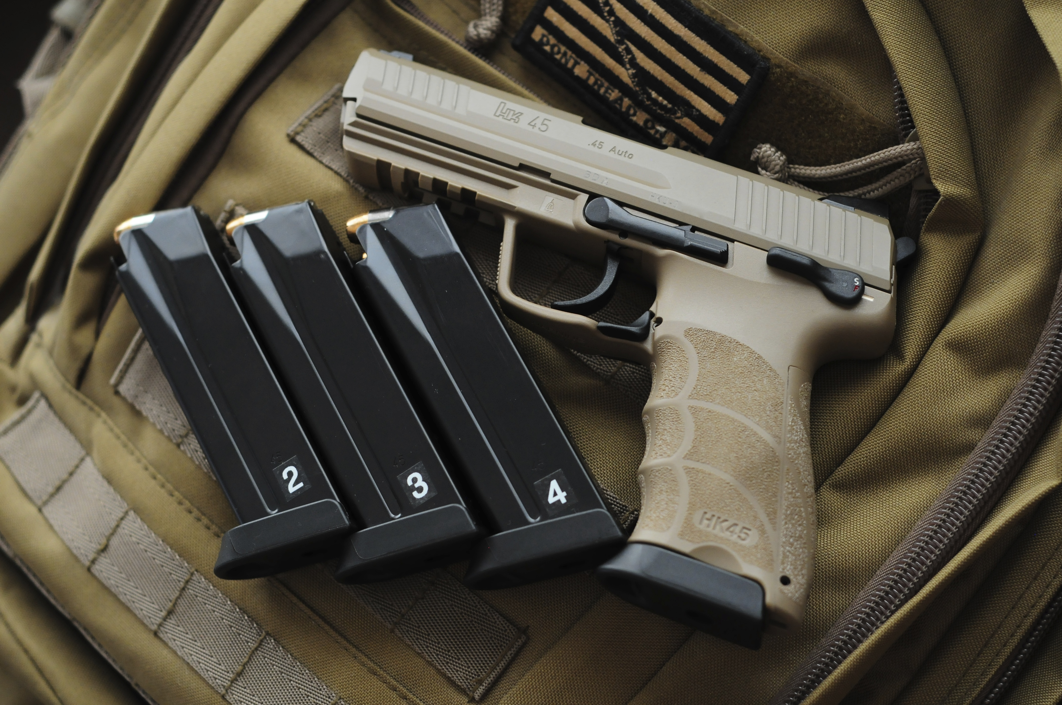FDE hk45 tactical? - Page 3