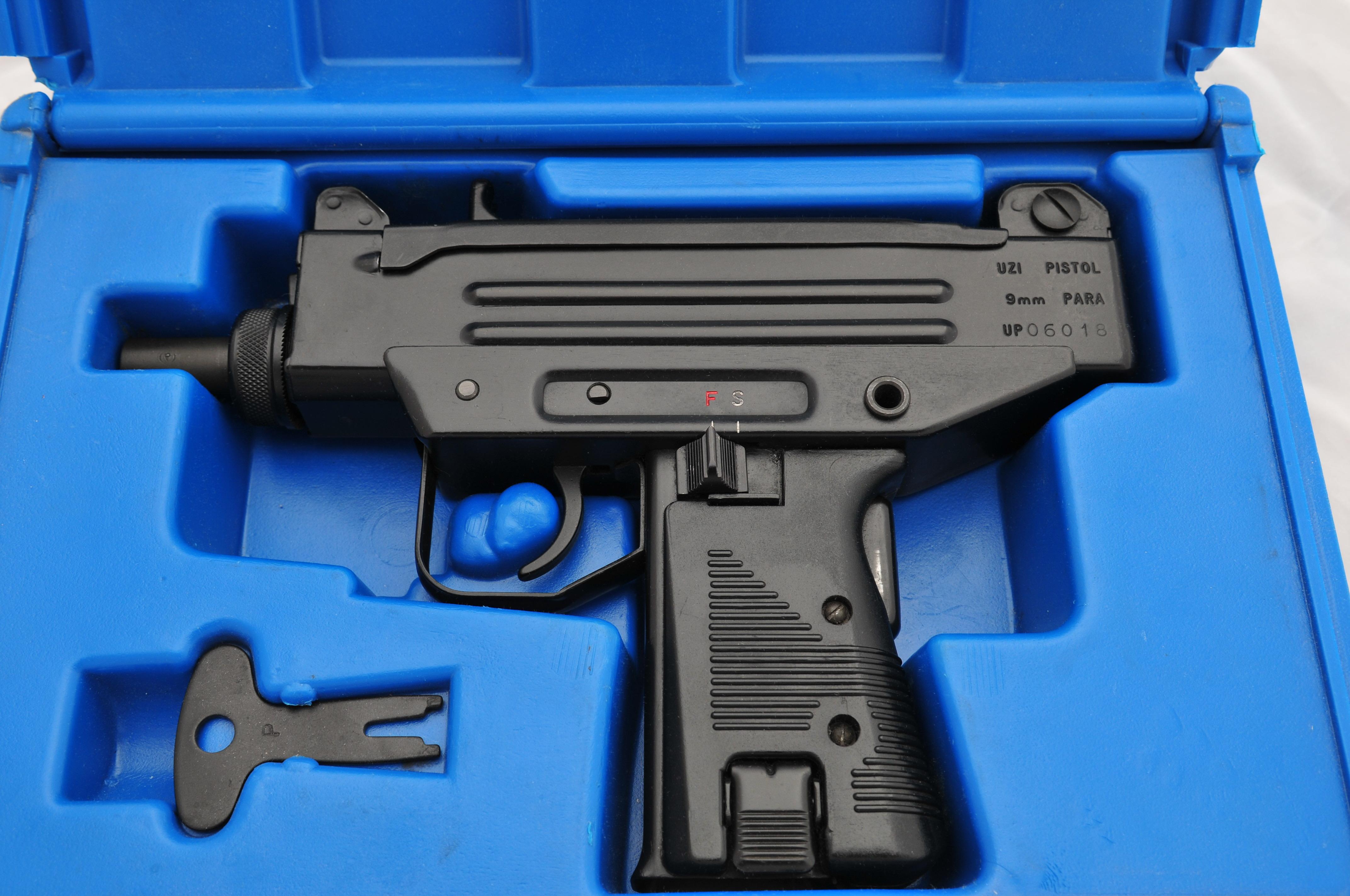 Wts  Imi Micro Uzi Pistol 9mm