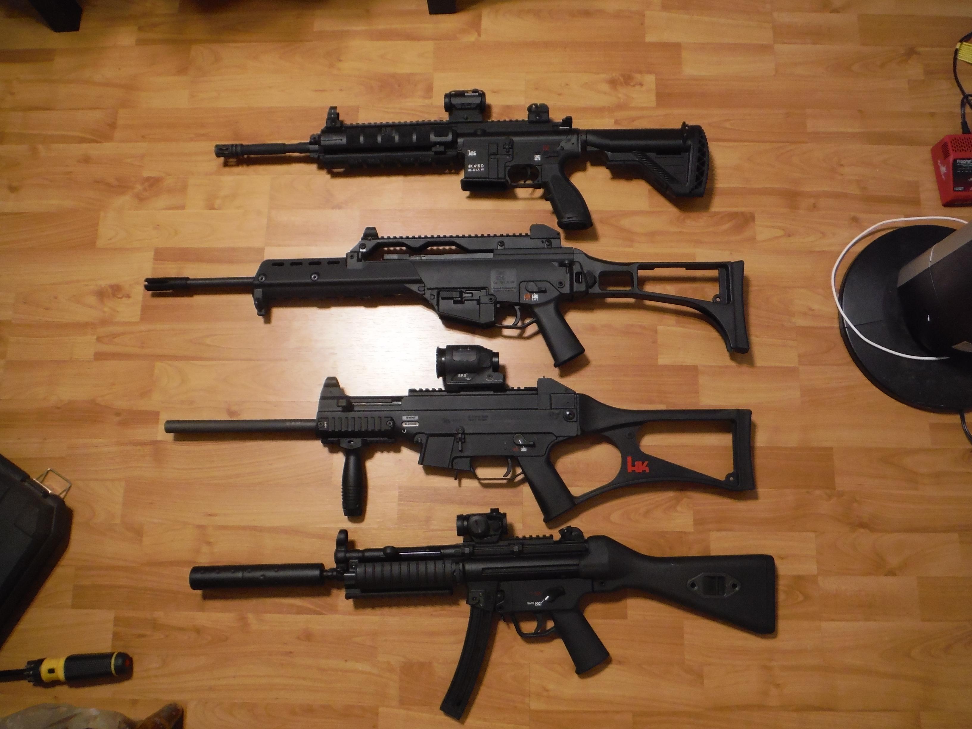 HK MP5 A5 vs GSG 22lr - Page 2
