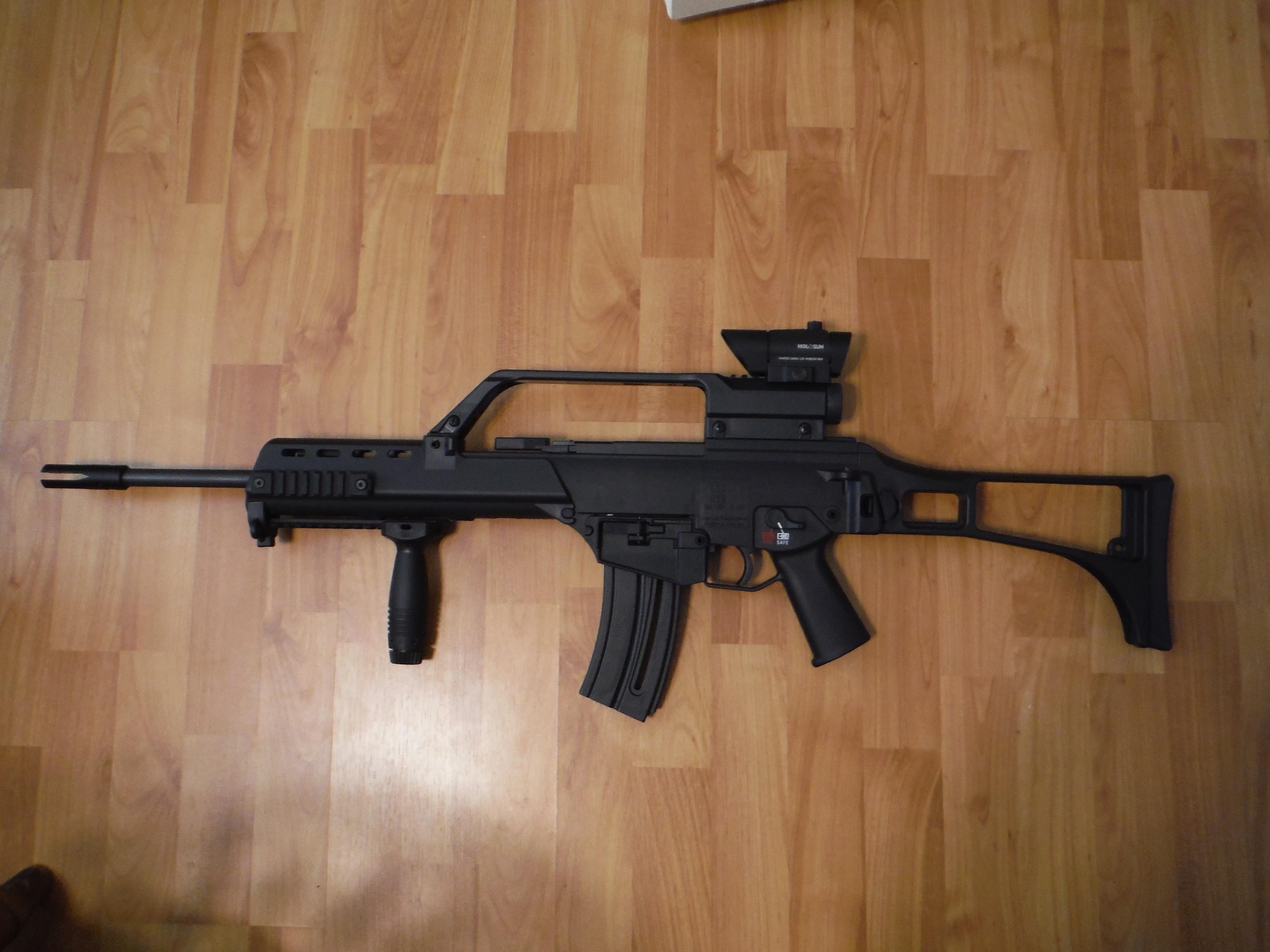 HK MP5 A5 vs GSG 22lr