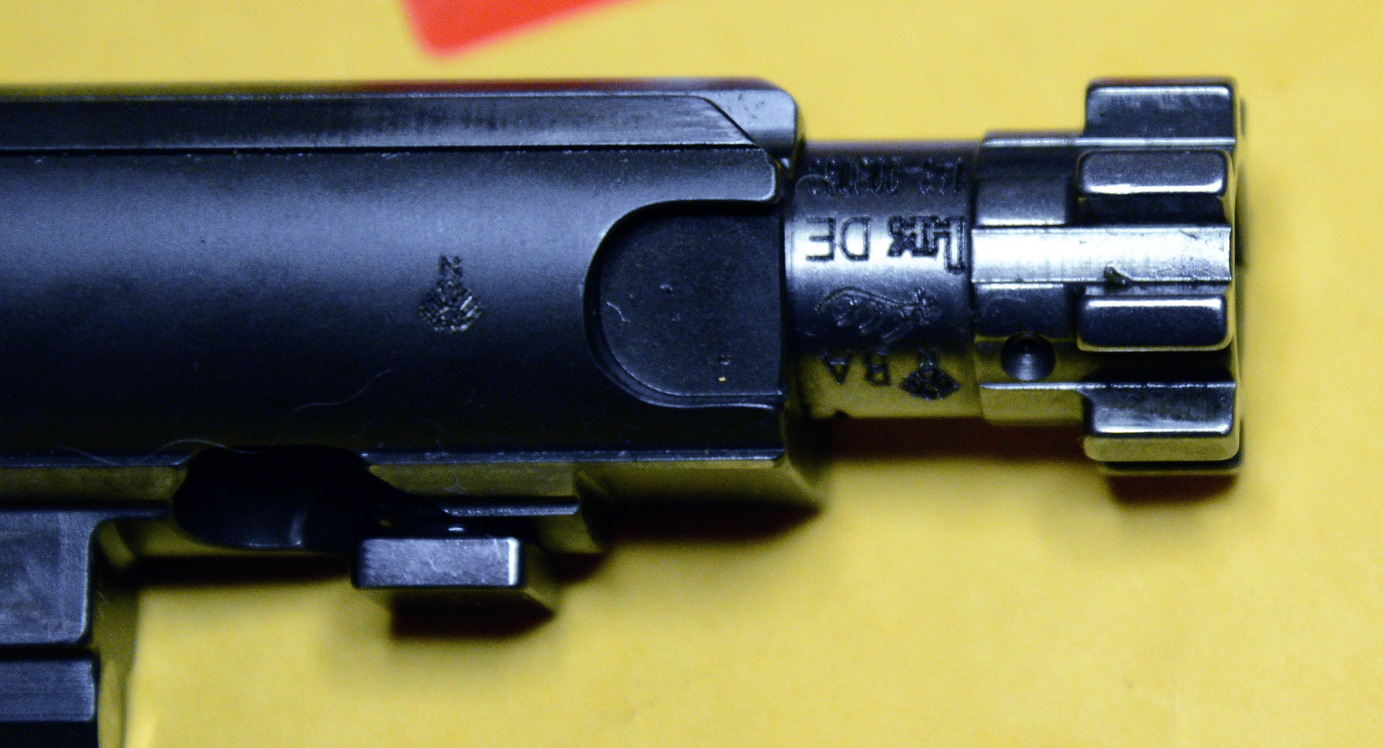 My new MR556A1 has BAD keyhole issues  - Page 3