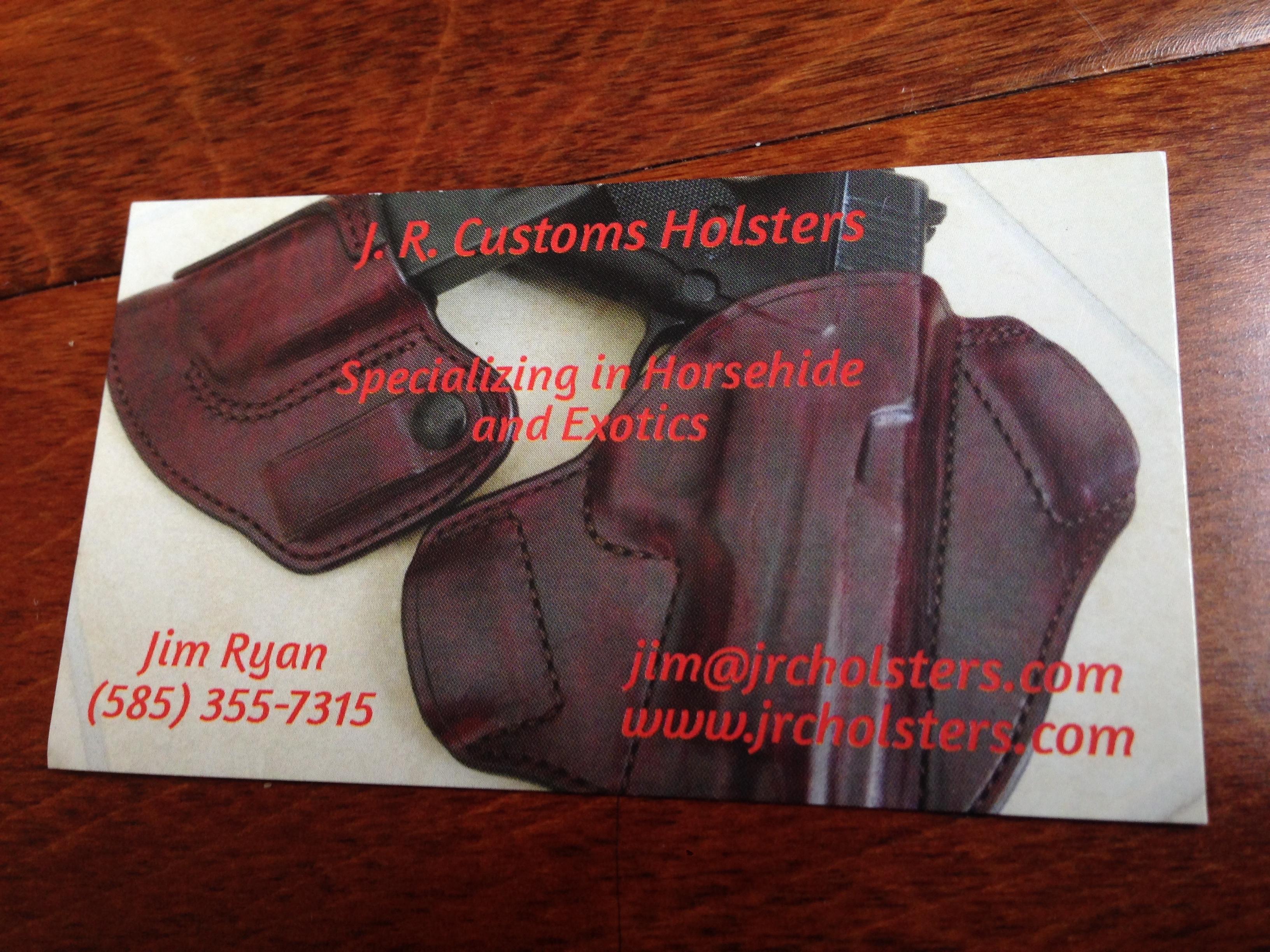 J.R. Customs Horsehide AIWB/CDA II Holster P30L, Black w/ Red Wildebeest 0 Shipped-fullsizeoutput_11f.jpeg