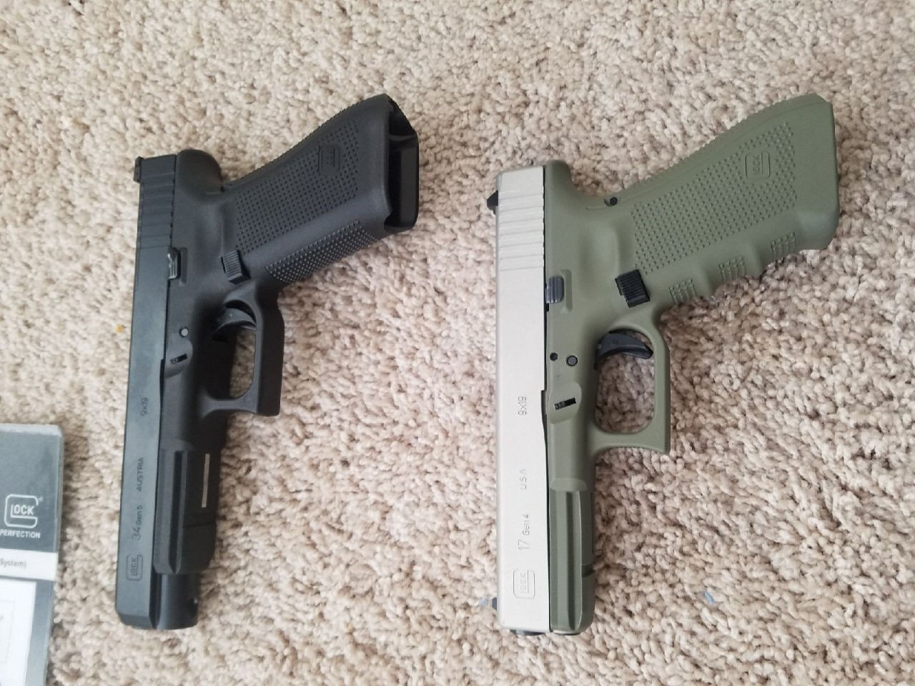 WTS/WTT Glock 17 gen 4 and 34 Gen 5 MOS