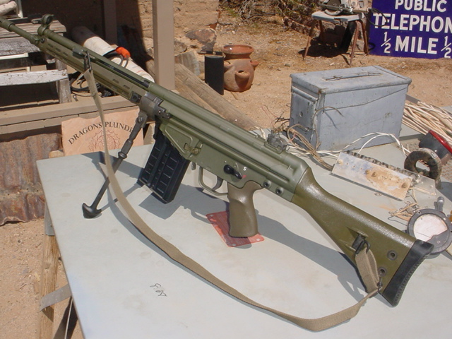Have you painted your rifle another color besides black? Show us!-green3-006.jpg
