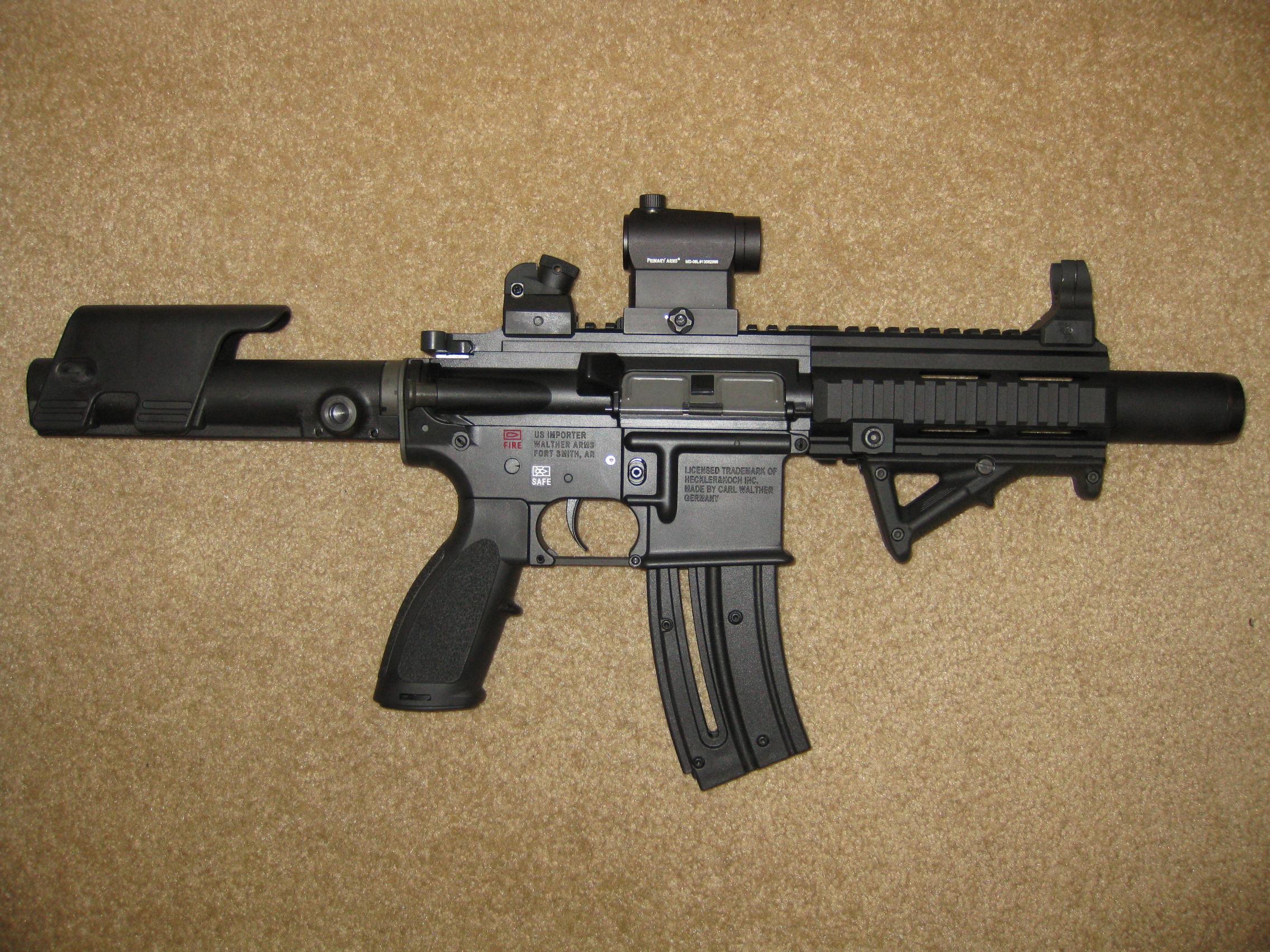 HK 416 22lr Pistol with SigTac Brace      Installation       - Page 2