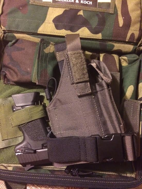 London Bridge Trading Co LTD MAS Grey H&K 416 417 MP7 MK24 HK45CT Operator Kit (Rare)-holster4.jpg