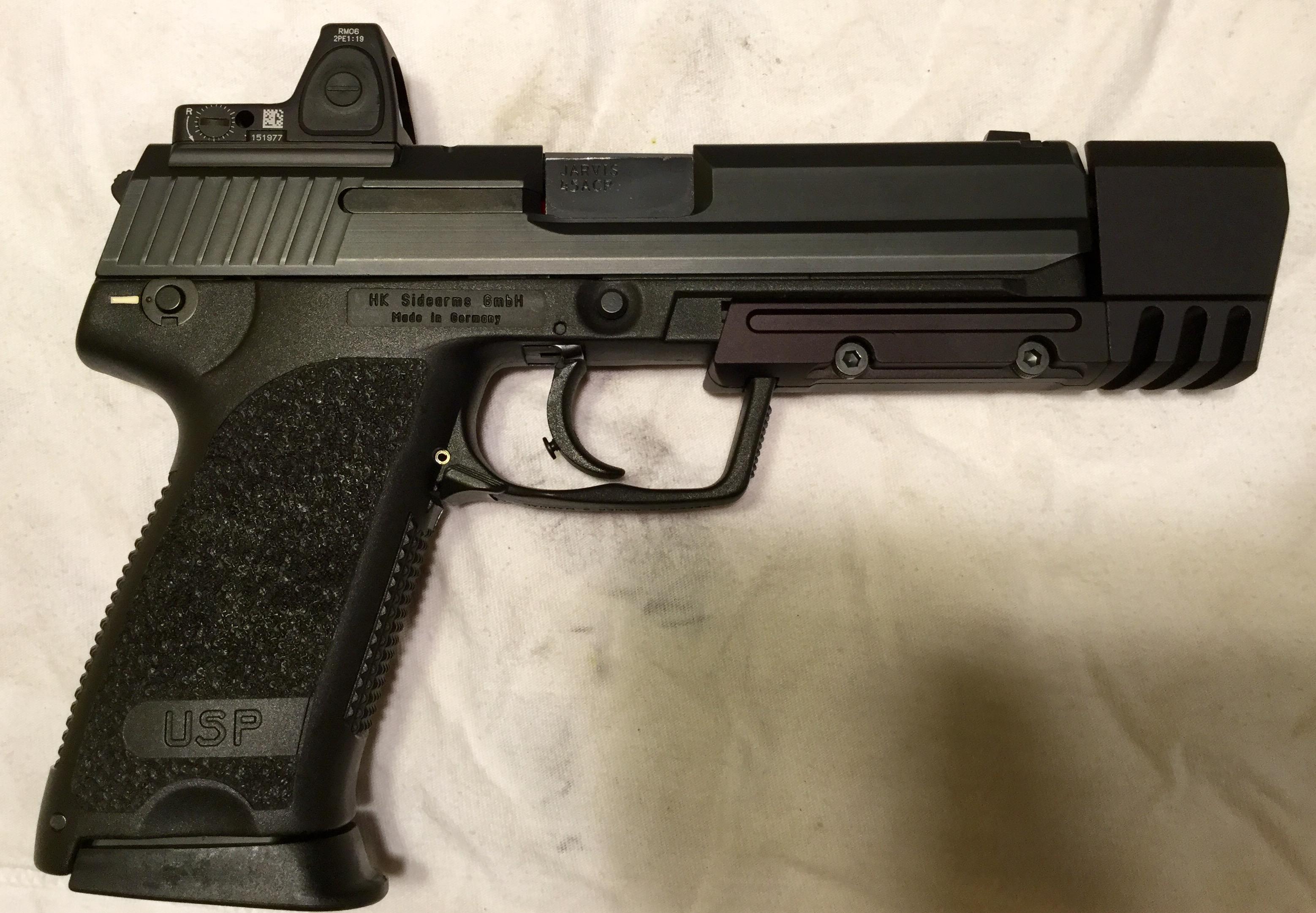 HK USP Tactical RMR milled slide?