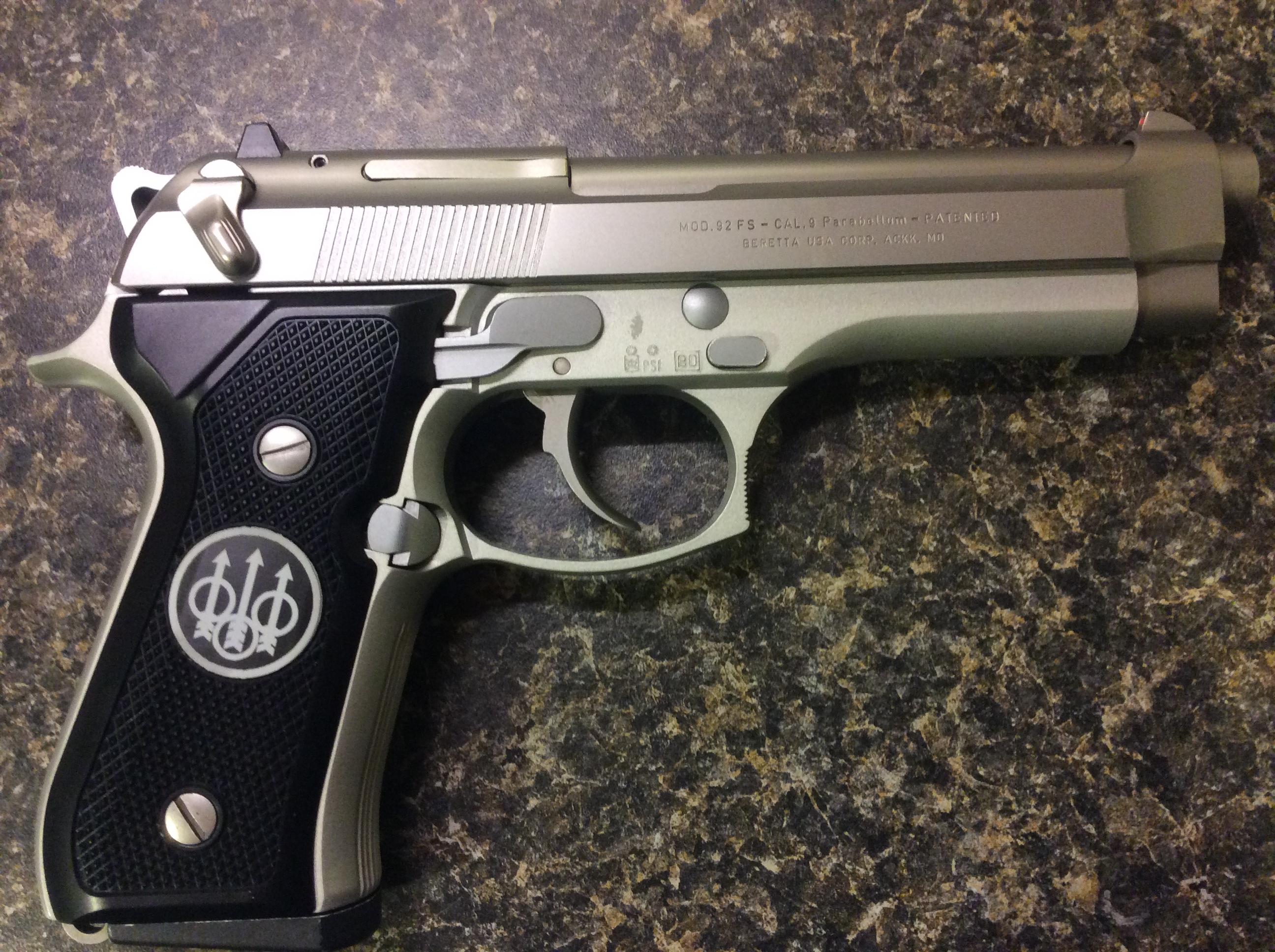 Wts Beretta 92fs Inox Stainless Italian Made Mid 90 S