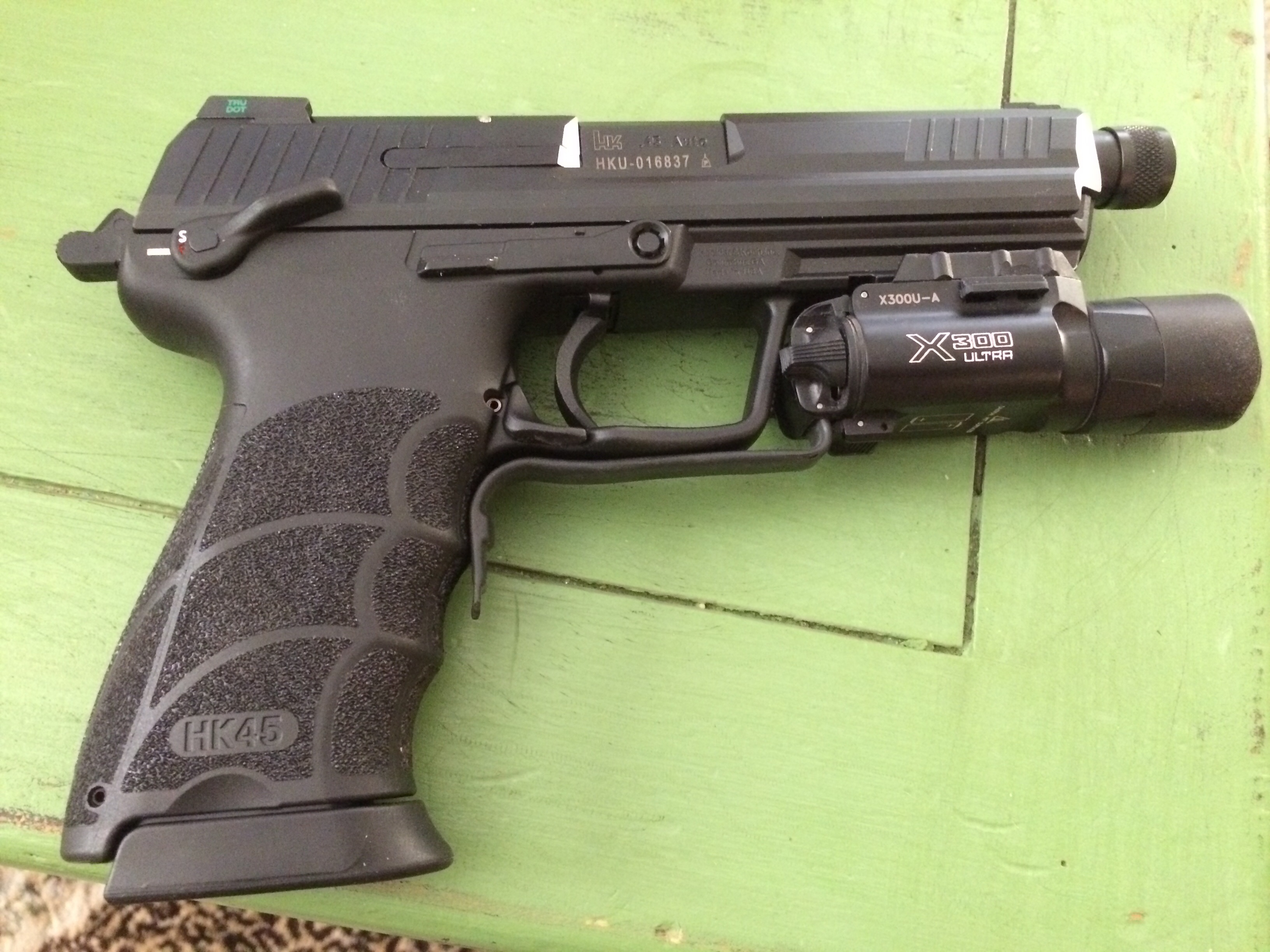 New addition to the family! HK45 tactical