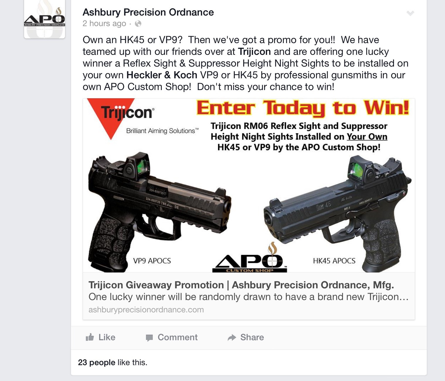 Could The Vp9 Be Outfitted With A Trijicon Rmr Page 2 Hk Red Image