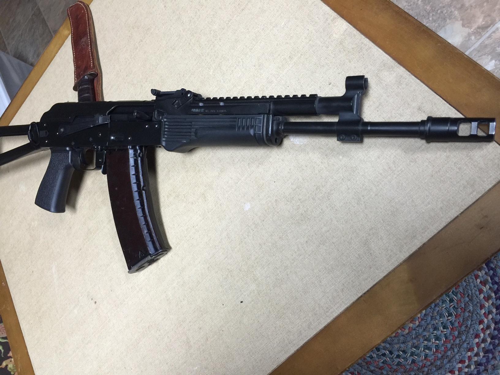 Wts  Rifle Dynamics Rd501  Ak74