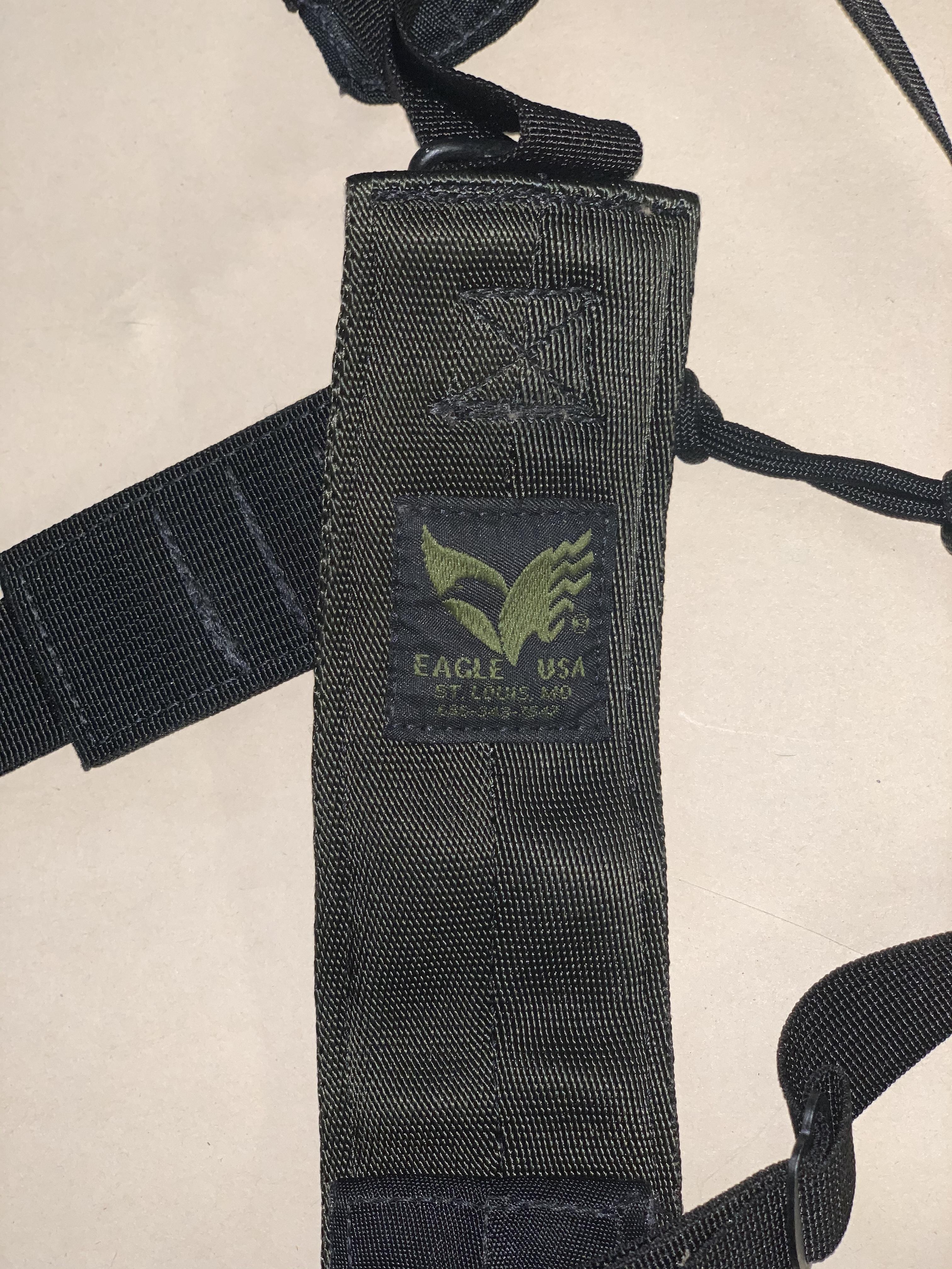 SOLD: Eagle Industries MP5K, SP89, SP5K shoulder harness COMPLETE with HK anyard-img-1328.jpg