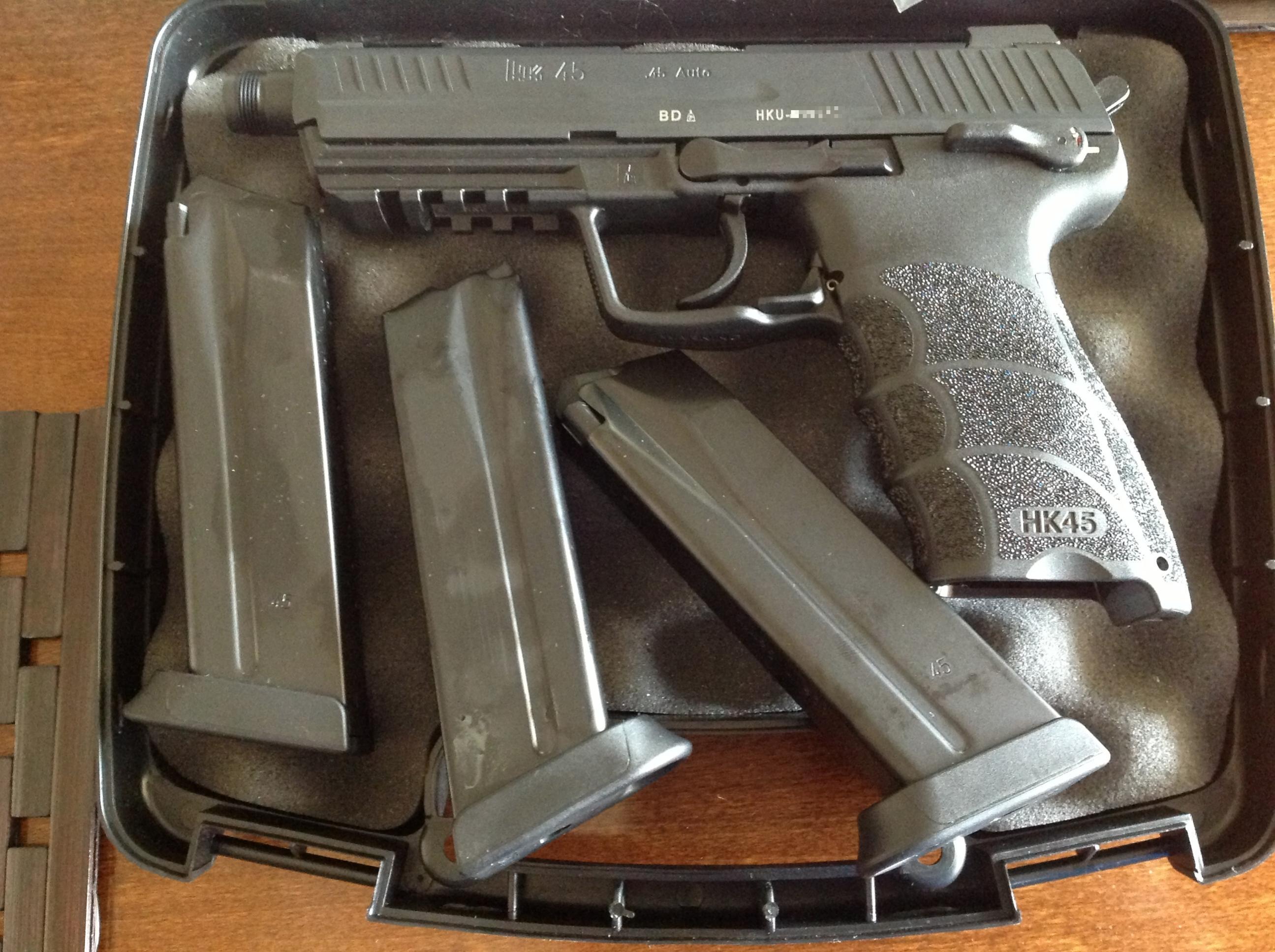 New HK45 Tactical (Black) Pics Inside