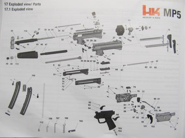 HK MP5 A5  22 Rifle Atlantic Firearms com - Page 3
