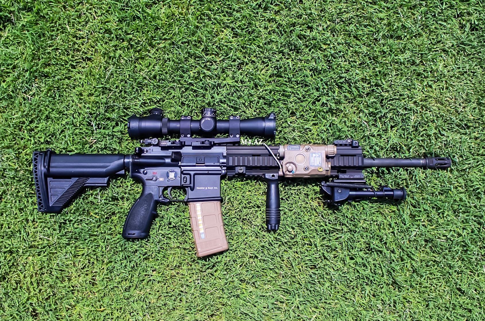 M27 Vs Mk12
