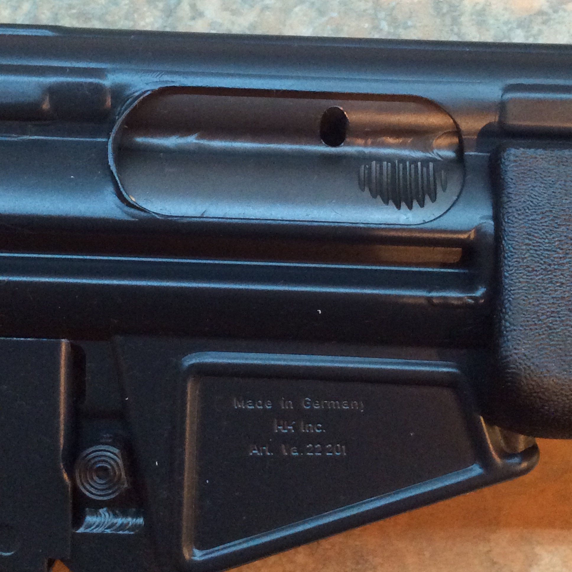 collapsible stock sl8: