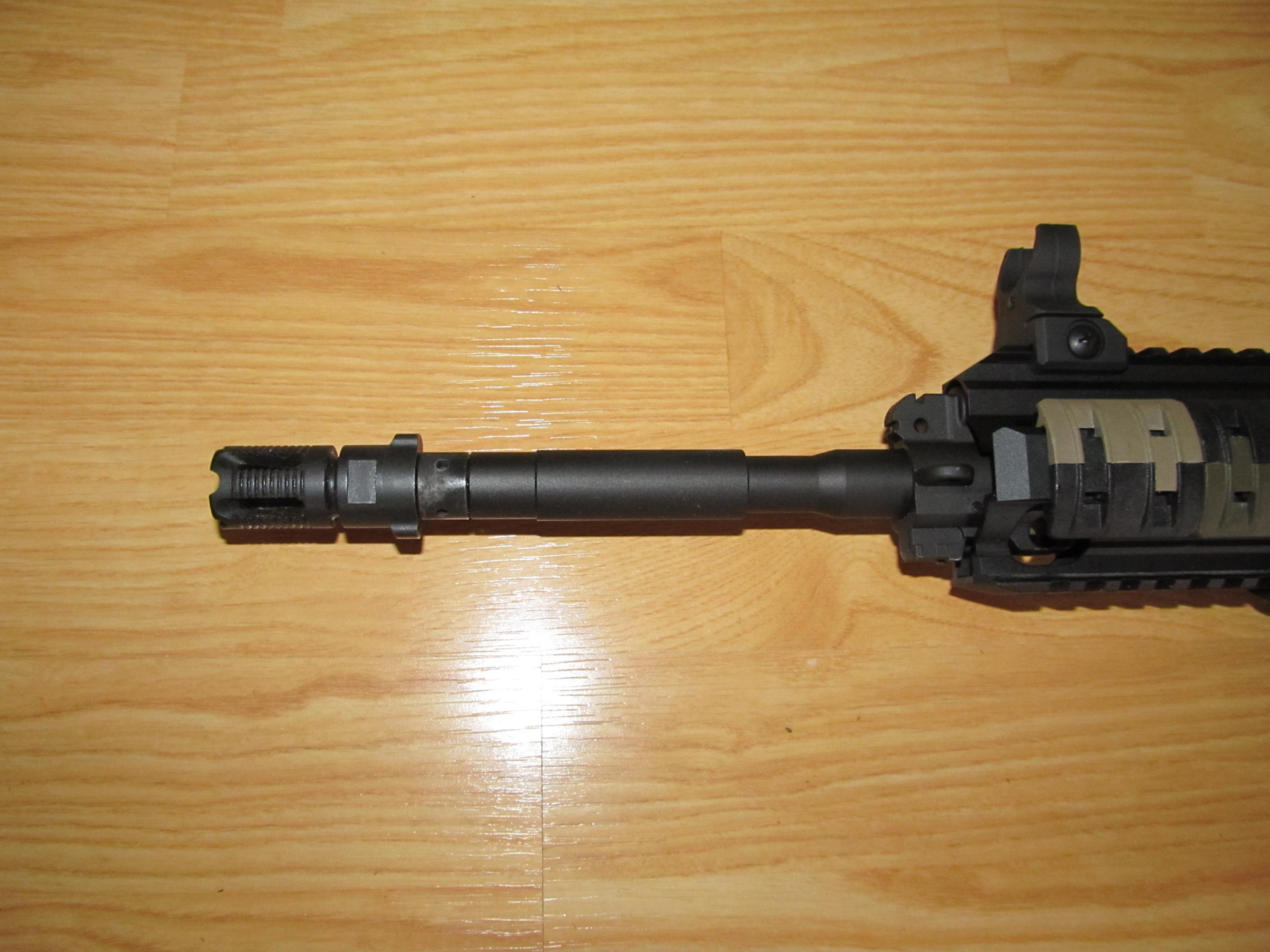 Which new Rimfire guns are threaded for a suppressor?