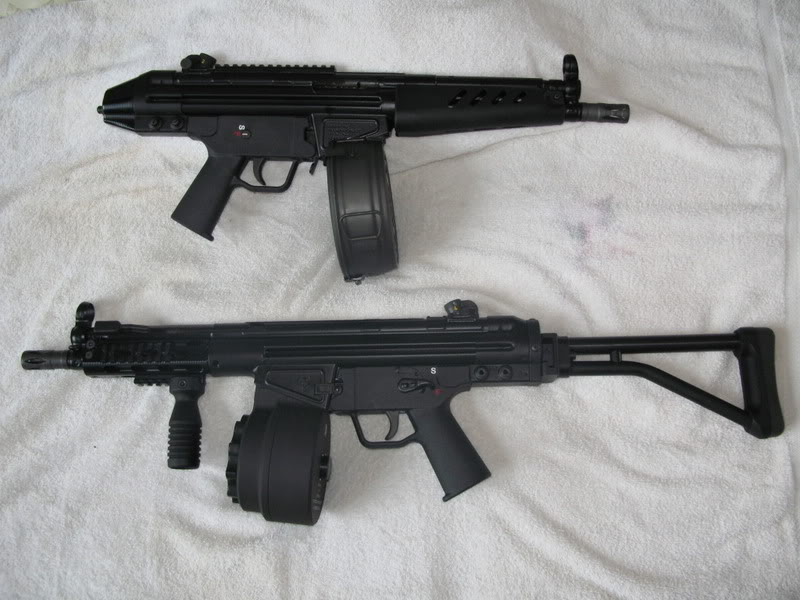 PTR PDW Stock - What do you like? Plus SBR question