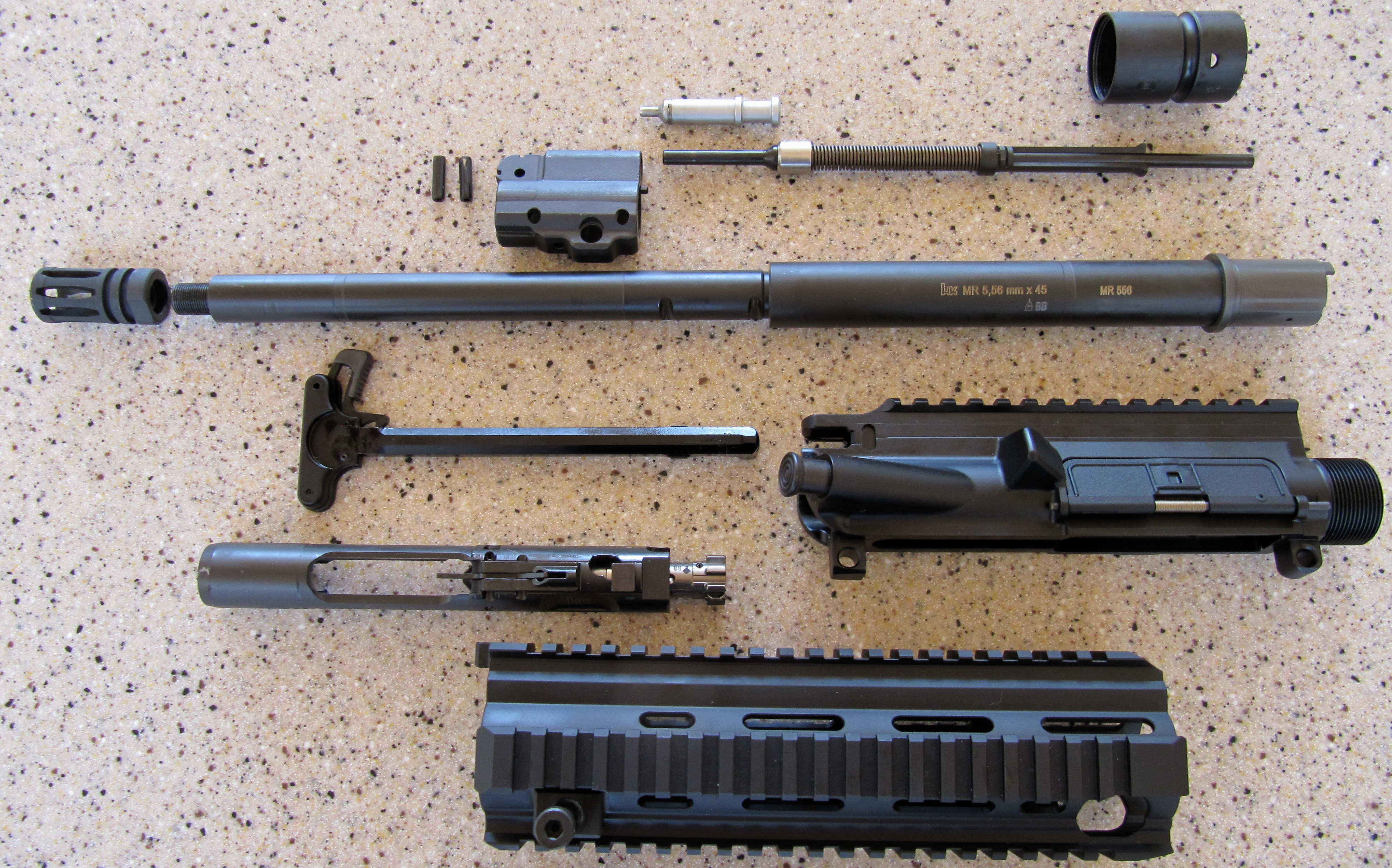 WTS: Heckler & Koch MR556-A1 Upper Receiver Parts Kit - Attachments