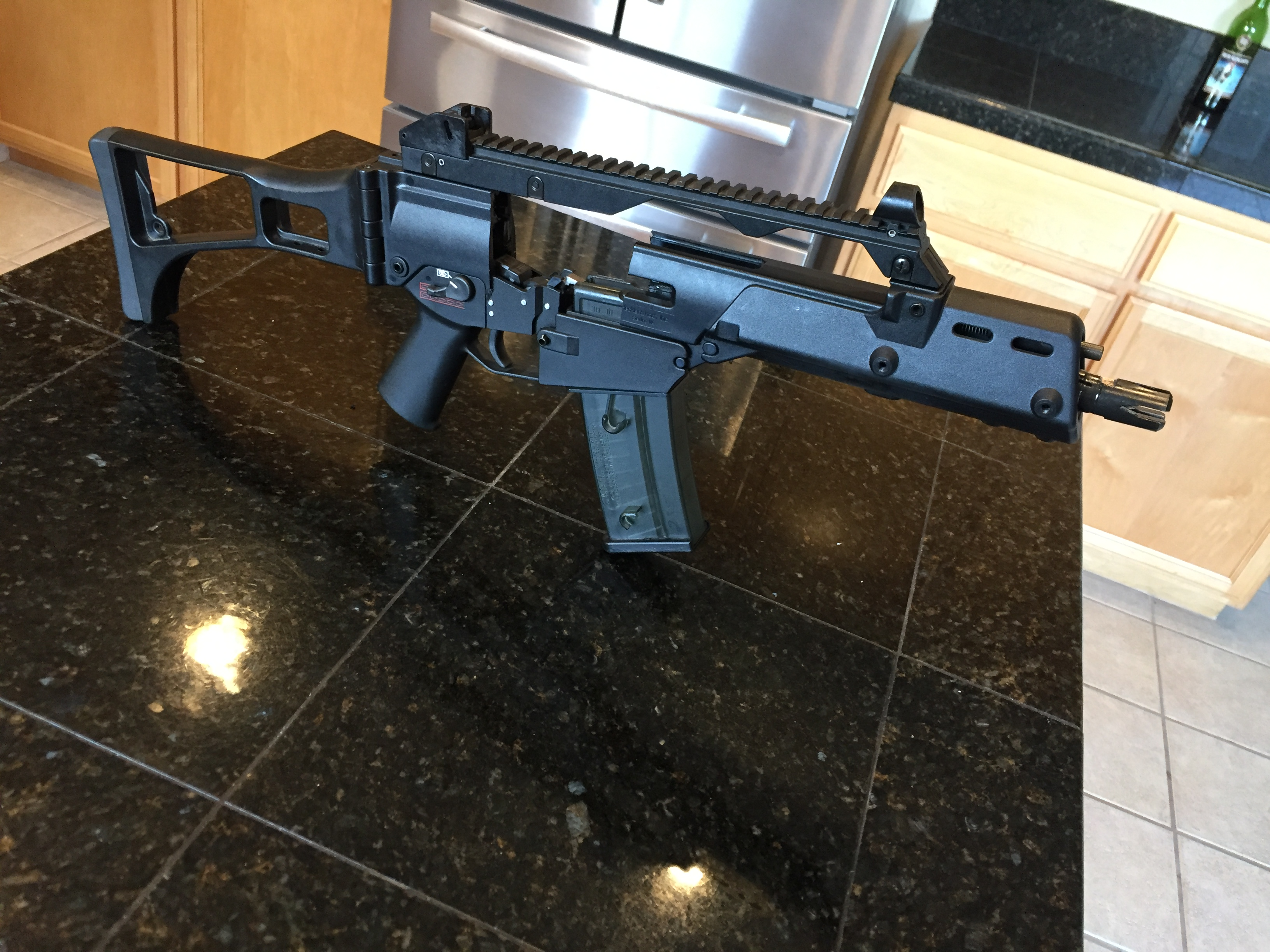 Energian Saasto—These Hk G36 Parts For Sale