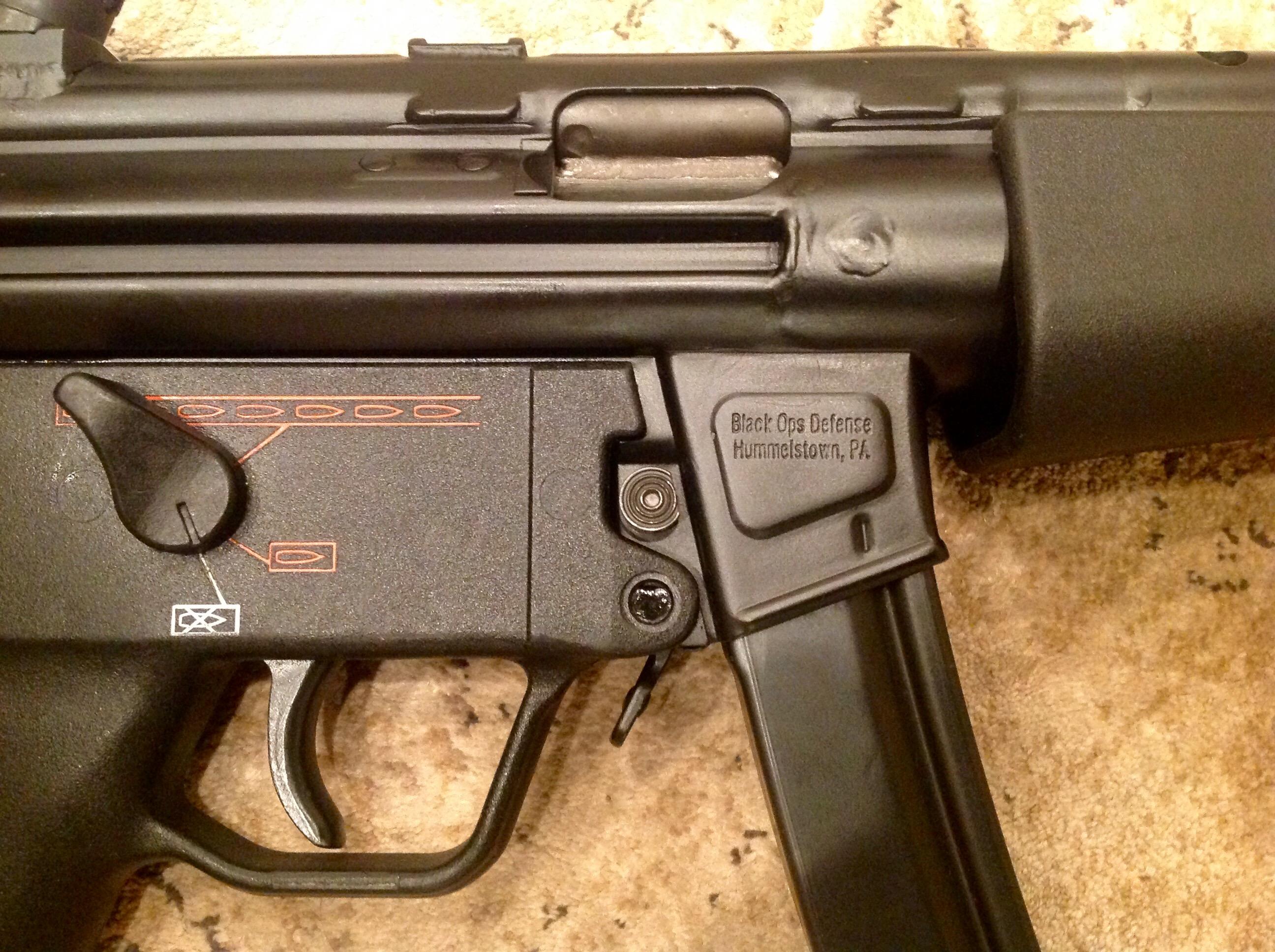 WTS: Black Ops Def MP-5 HK LSC kit build pistol 9mm