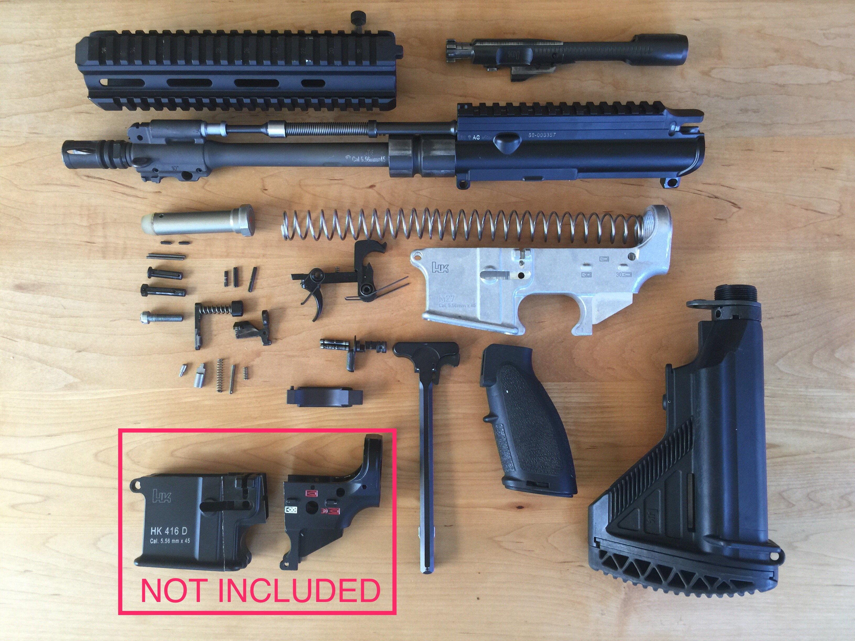 Try These Hk416 Parts Kit {Mahindra Racing}