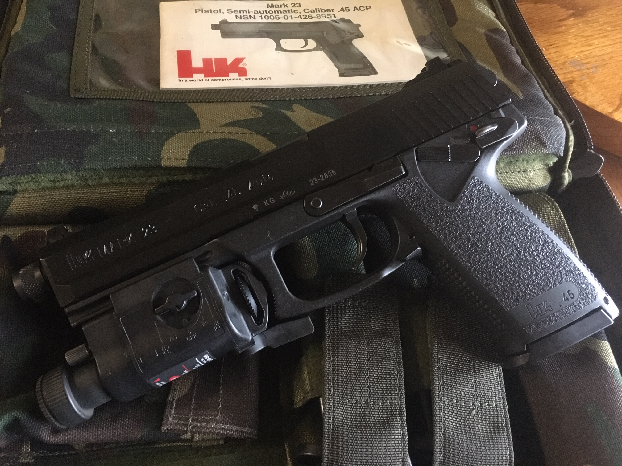 WTS: 1996 KG MARK 23 pistol, camo case, KAC suppressor and LAM package-img_4525.jpg