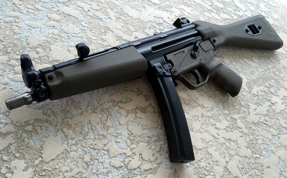 AK triangle stock on MP5 - Page 1 - AR15 COM