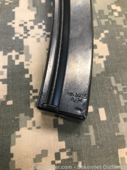 Did HK make factory 40 round MP5 mags?