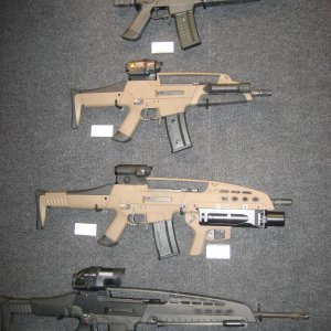 The XM8 variants